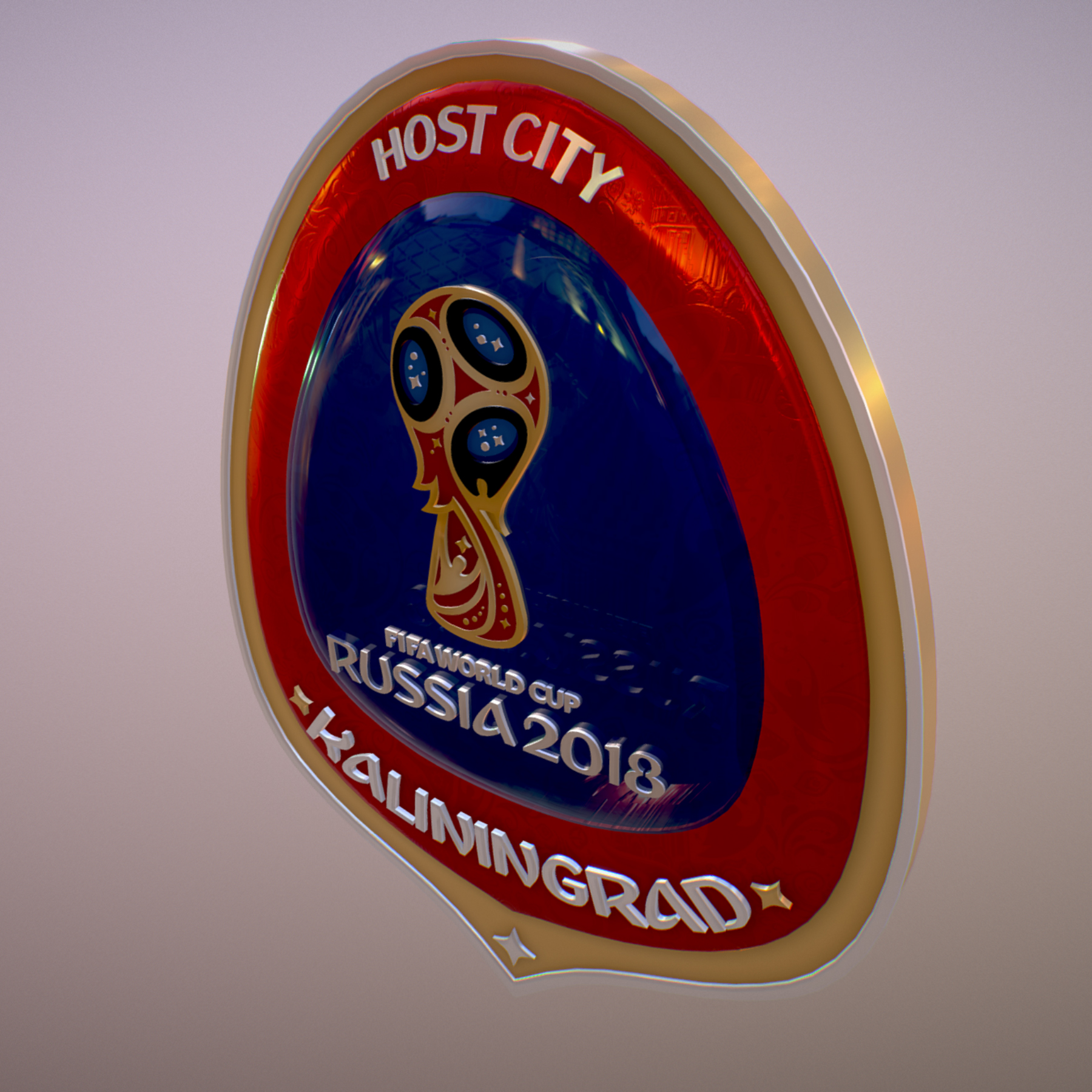 kaliningrad city world cup Rusija 2018 simbol 3d model max fbx jpeg jpg ma mb obj 271760