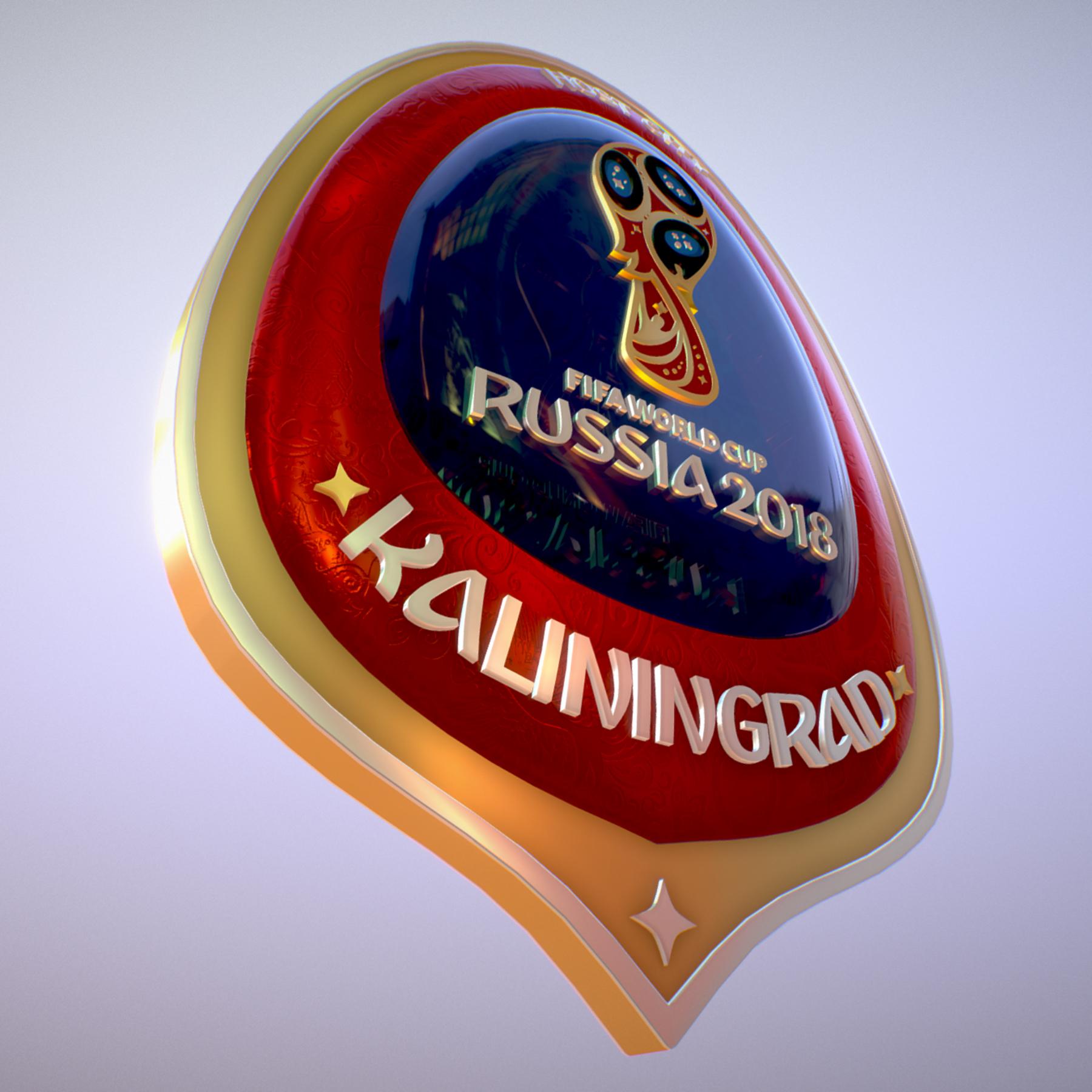 Kaliningrad City World Cup Russia 2018 Symbol 3d model max 3ds max plugin fbx jpeg ma mb obj 271761