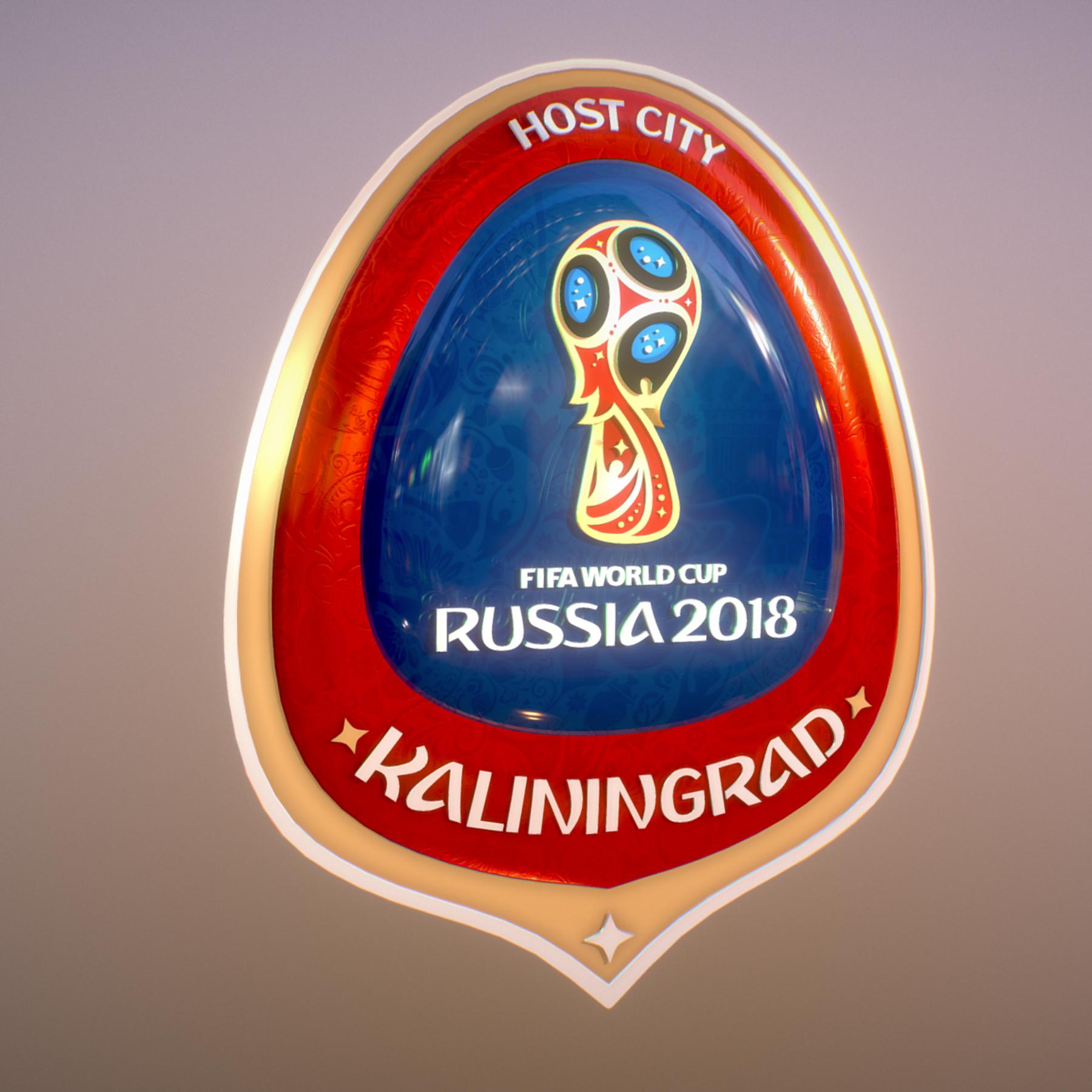 Kaliningrad City World Cup Russia 2018 Symbol 3d model max 3ds max plugin fbx jpeg ma mb obj 271762