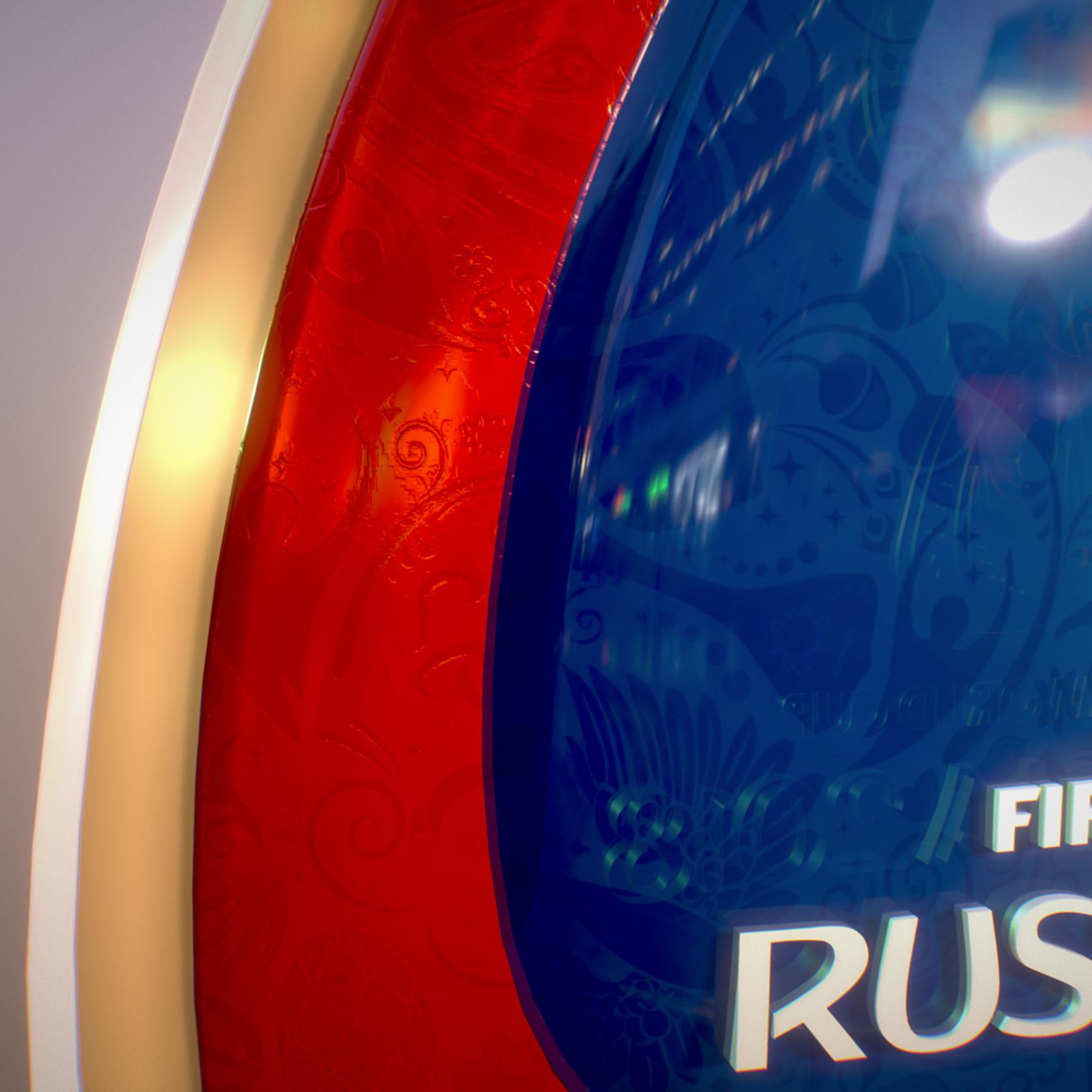 Kaliningrad City World Cup Russia 2018 Symbol 3d model max 3ds max plugin fbx jpeg ma mb obj 271763