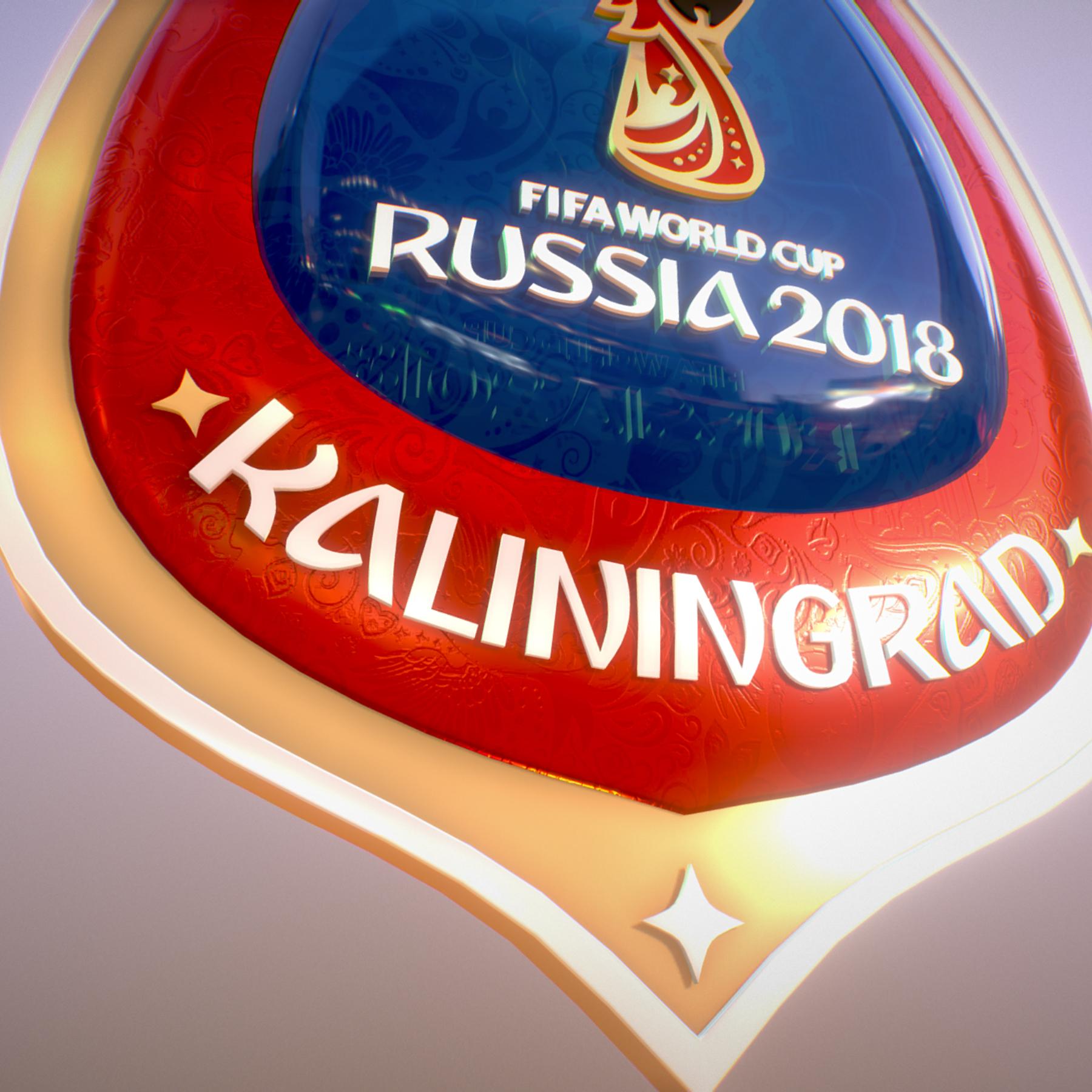 Kaliningrad City World Cup Russia 2018 Symbol 3d model max 3ds max plugin fbx jpeg ma mb obj 271764