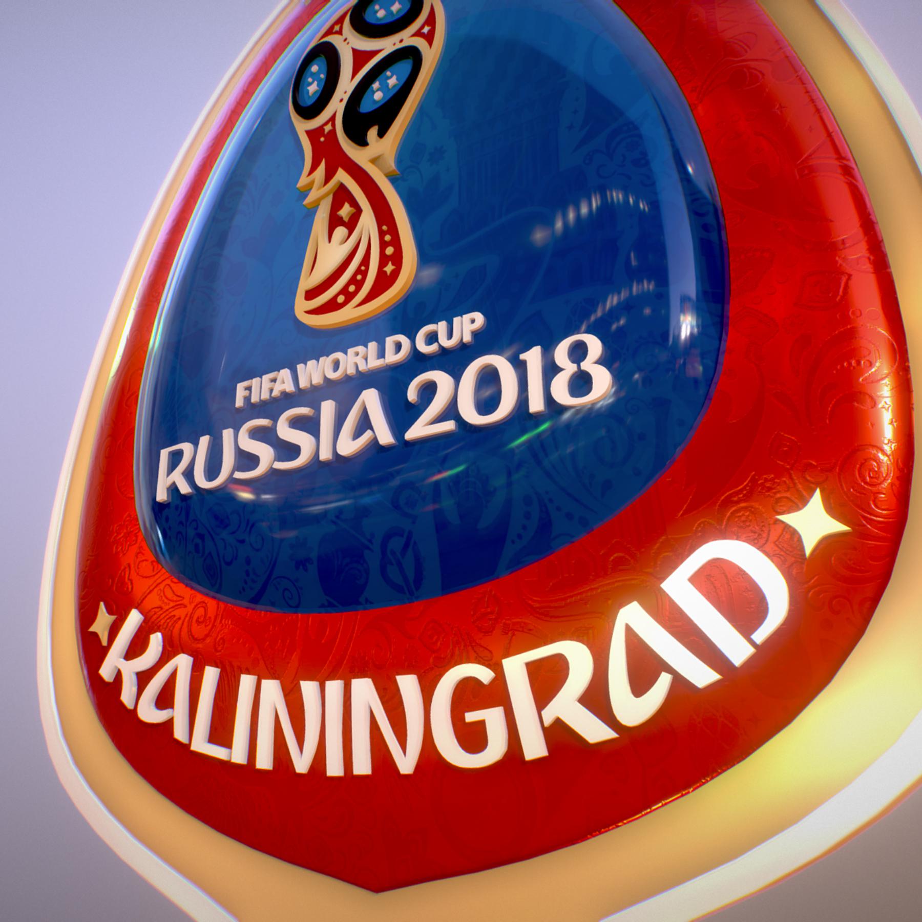 Kaliningrad City World Cup Russia 2018 Symbol 3d model max 3ds max plugin fbx jpeg ma mb obj 271765