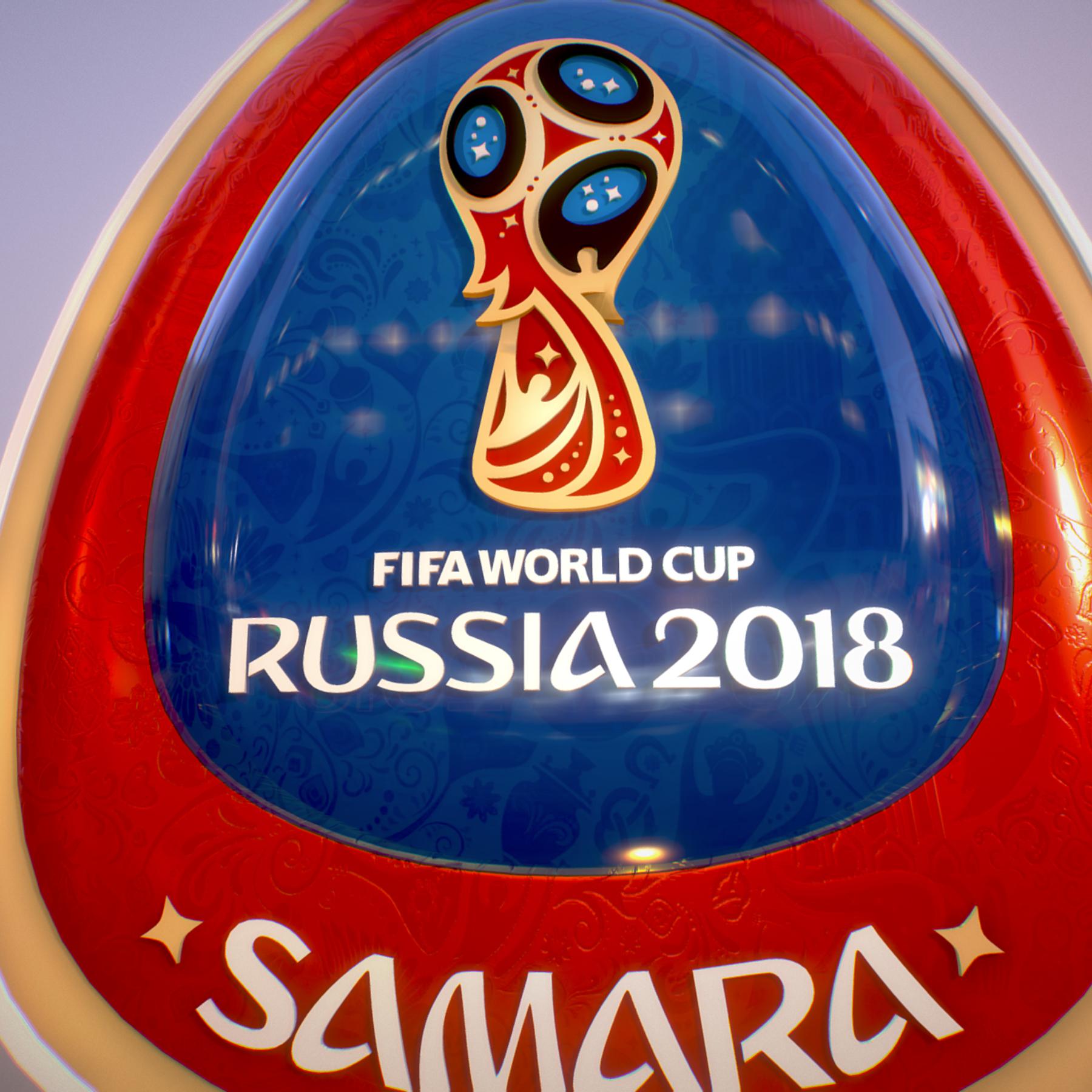 samara host city world cup russia 2018 symbol 3d model max  fbx jpeg jpg ma mb obj 271826