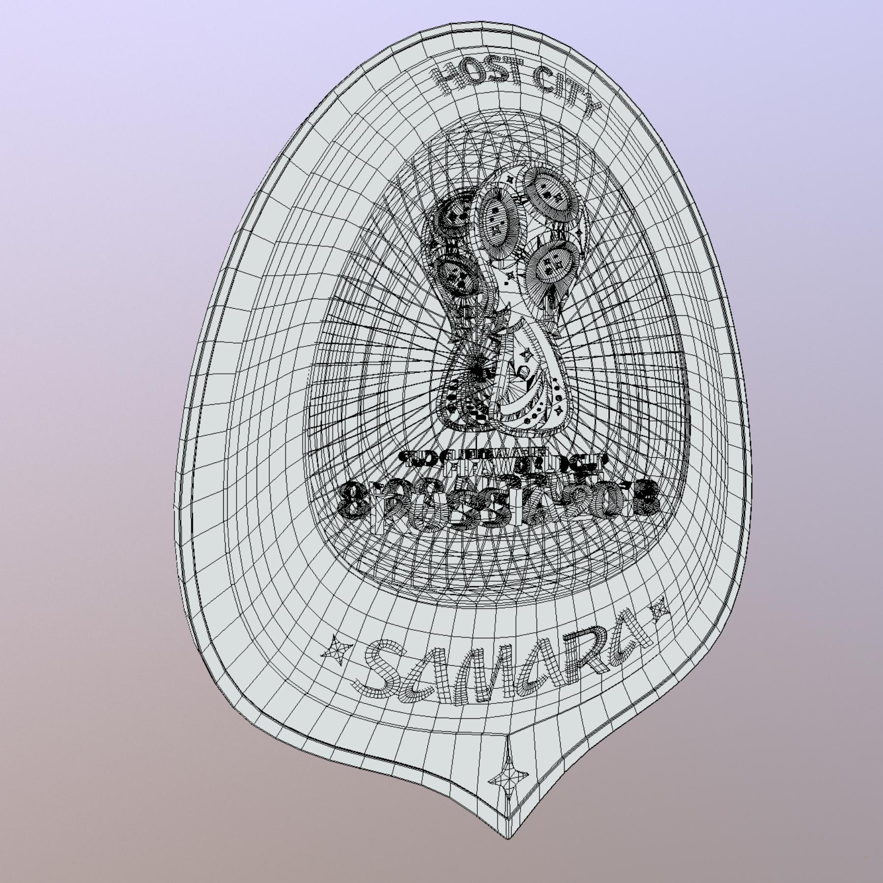 samara host city world cup russia 2018 symbol 3d model max  fbx jpeg jpg ma mb obj 271832