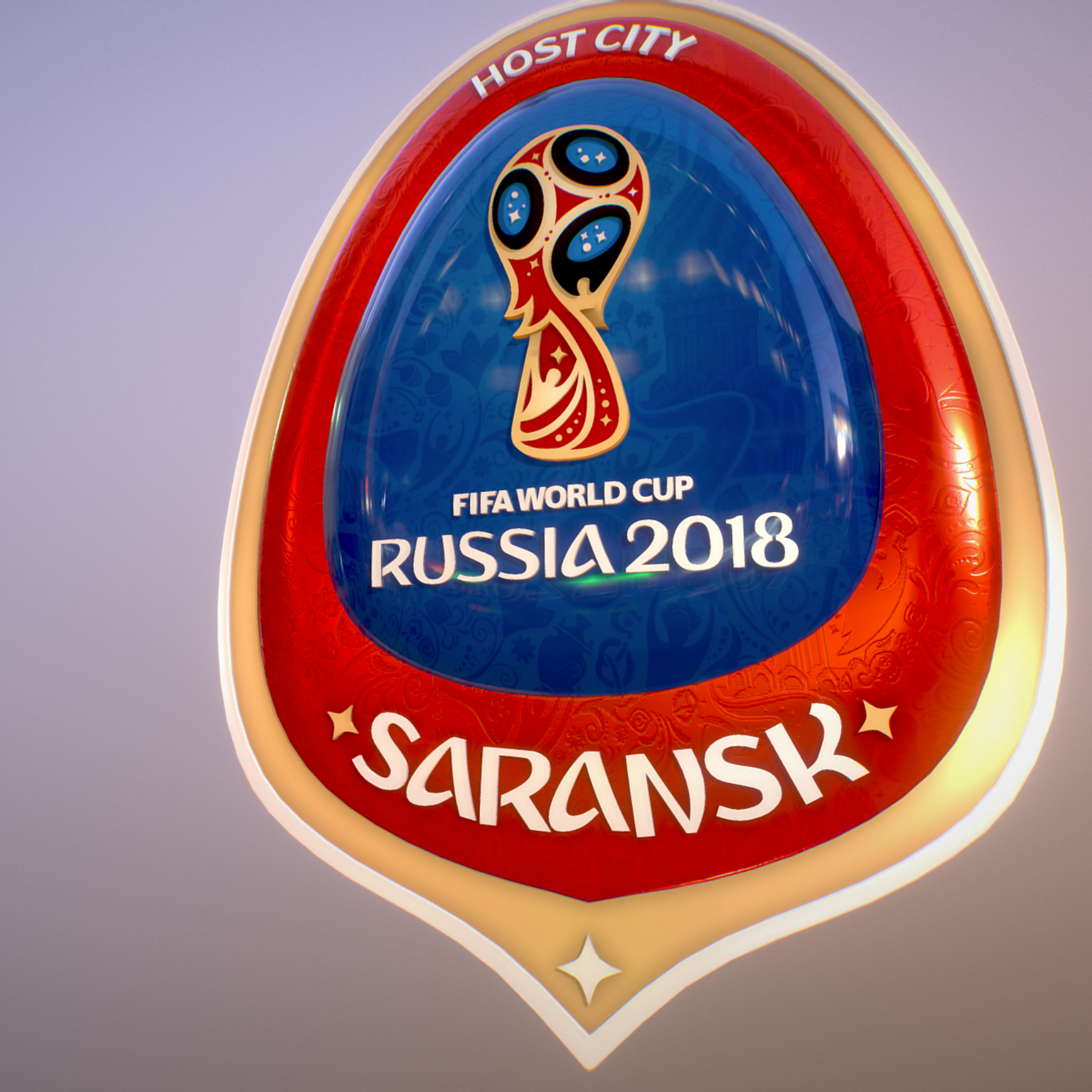 Saransk Host City World Cup Russia 2018 Symbol 3d model max 3ds max plugin fbx cob jpeg ma mb obj 271837