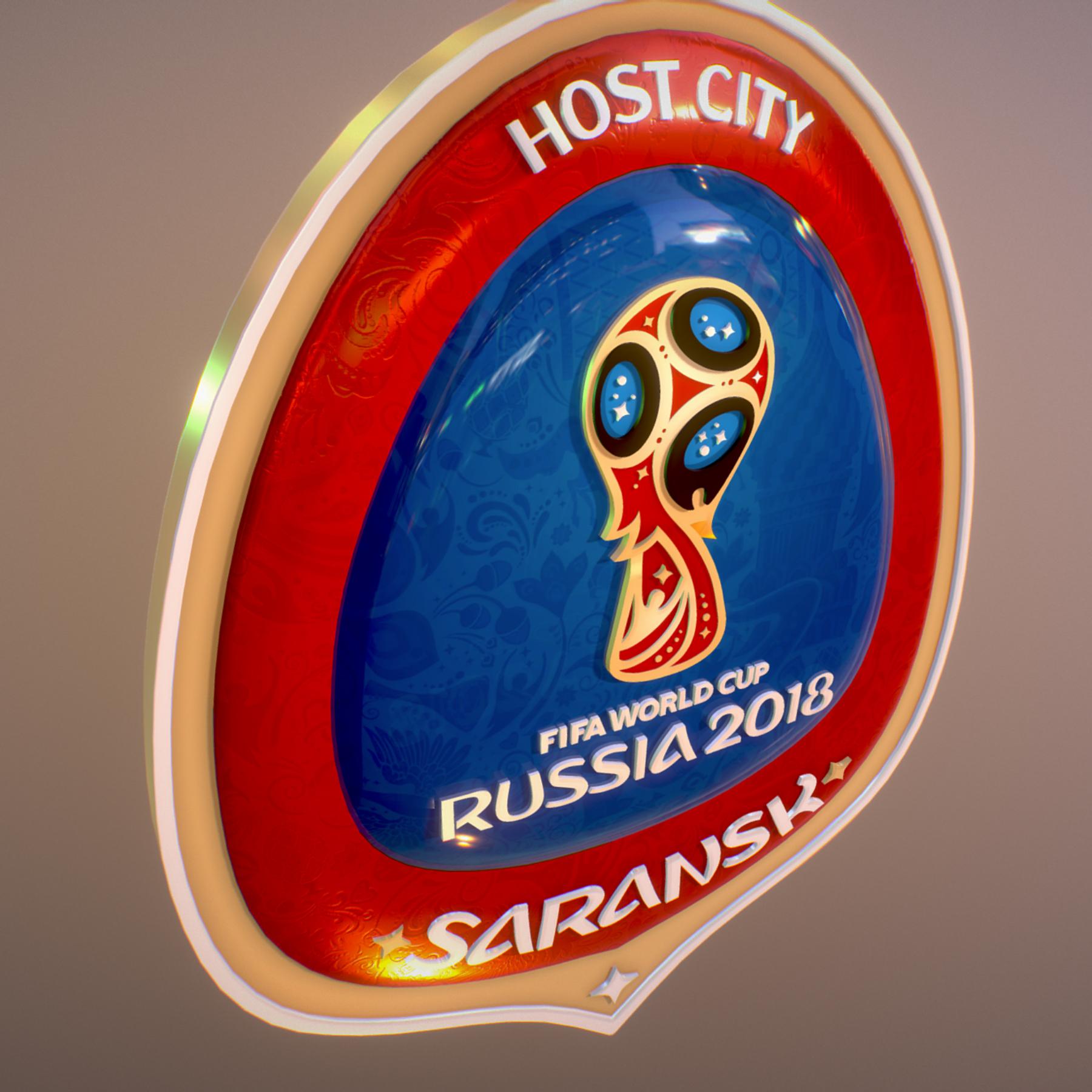 saransk domaćin grad svjetski kup rusija 2018 simbol 3d model max fbx cob jpeg jpg ma mb obj 271845