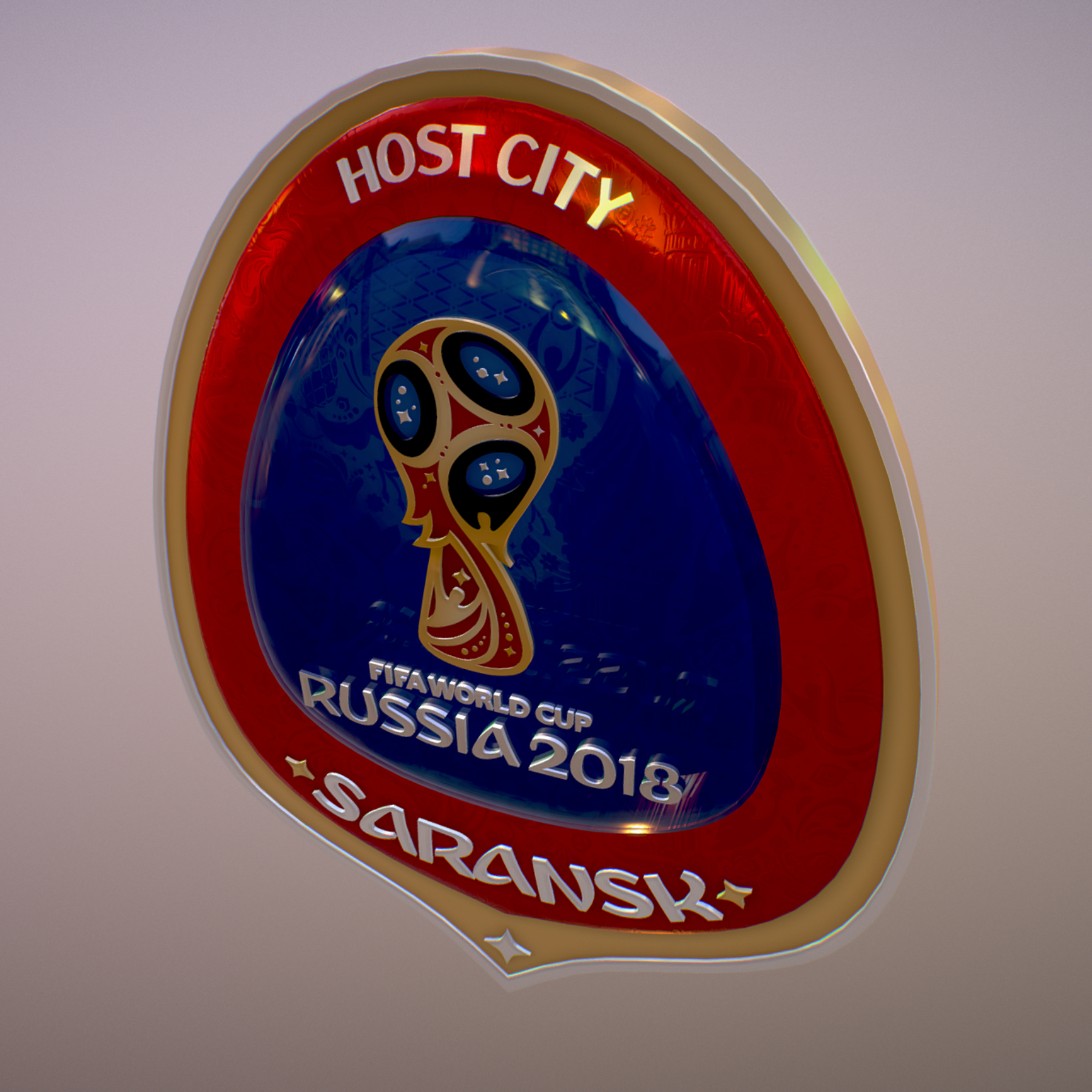 Saransk Host City World Cup Russia 2018 Symbol 3d model max 3ds max plugin fbx cob jpeg ma mb obj 271846
