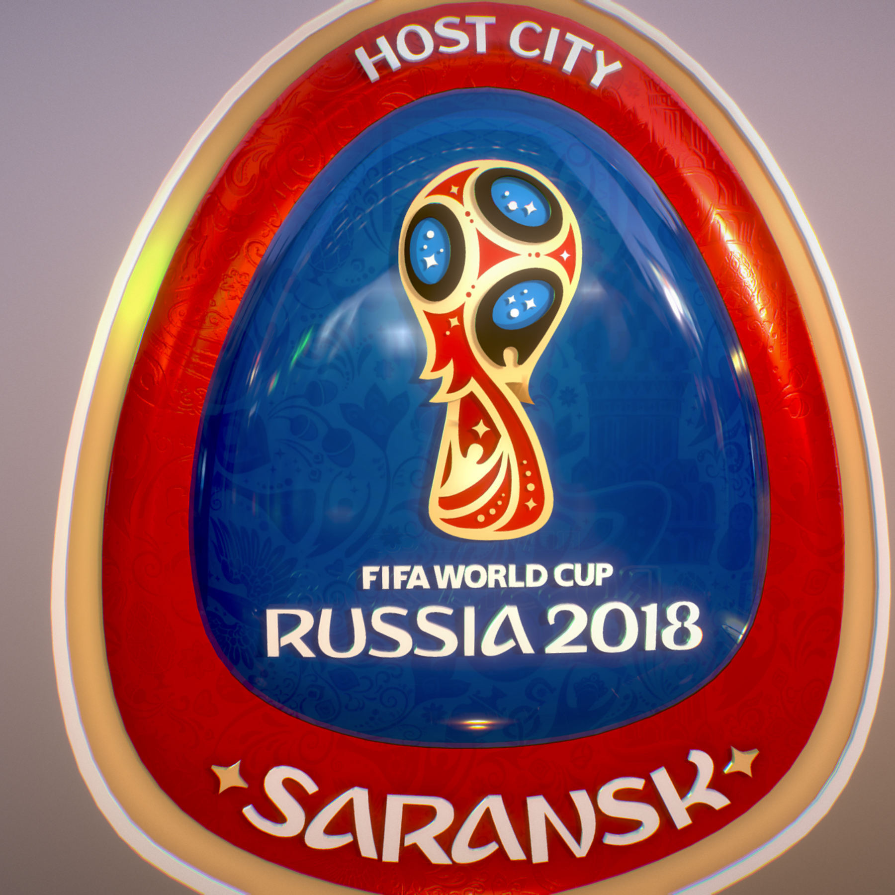 Saransk Host City World Cup Russia 2018 Symbol 3d model max 3ds max plugin fbx cob jpeg ma mb obj 271848