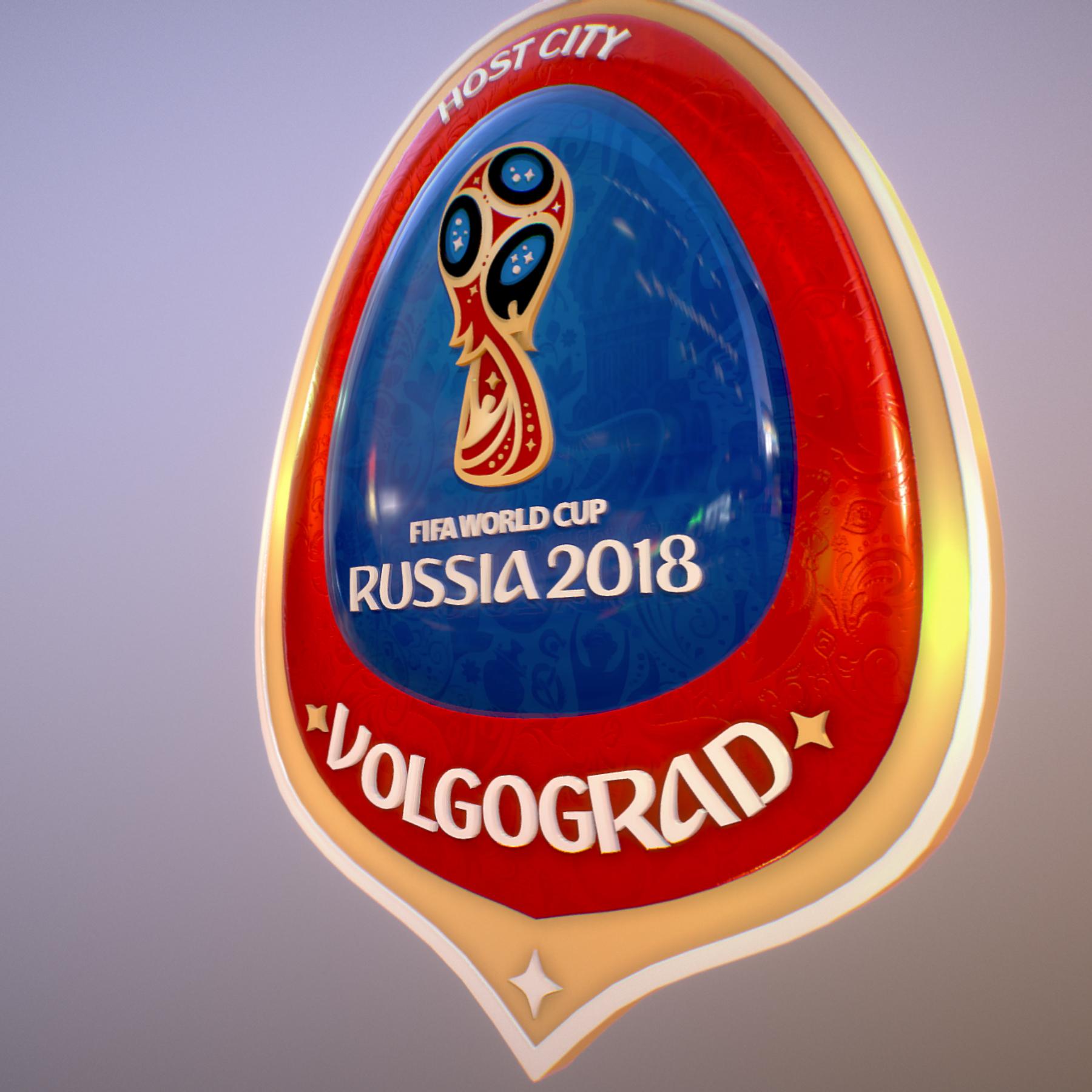 volgograd host city world cup russia 2018 symbol 3d model max  fbx jpeg jpg ma mb obj 271856