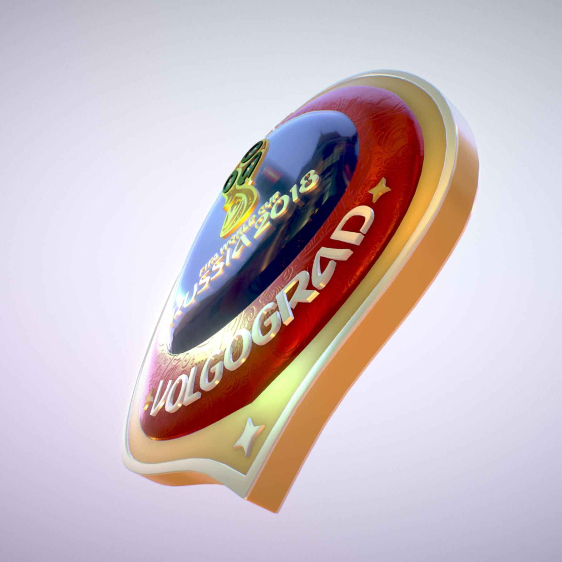 volgograd host city world cup russia 2018 symbol 3d model max  fbx jpeg jpg ma mb obj 271861