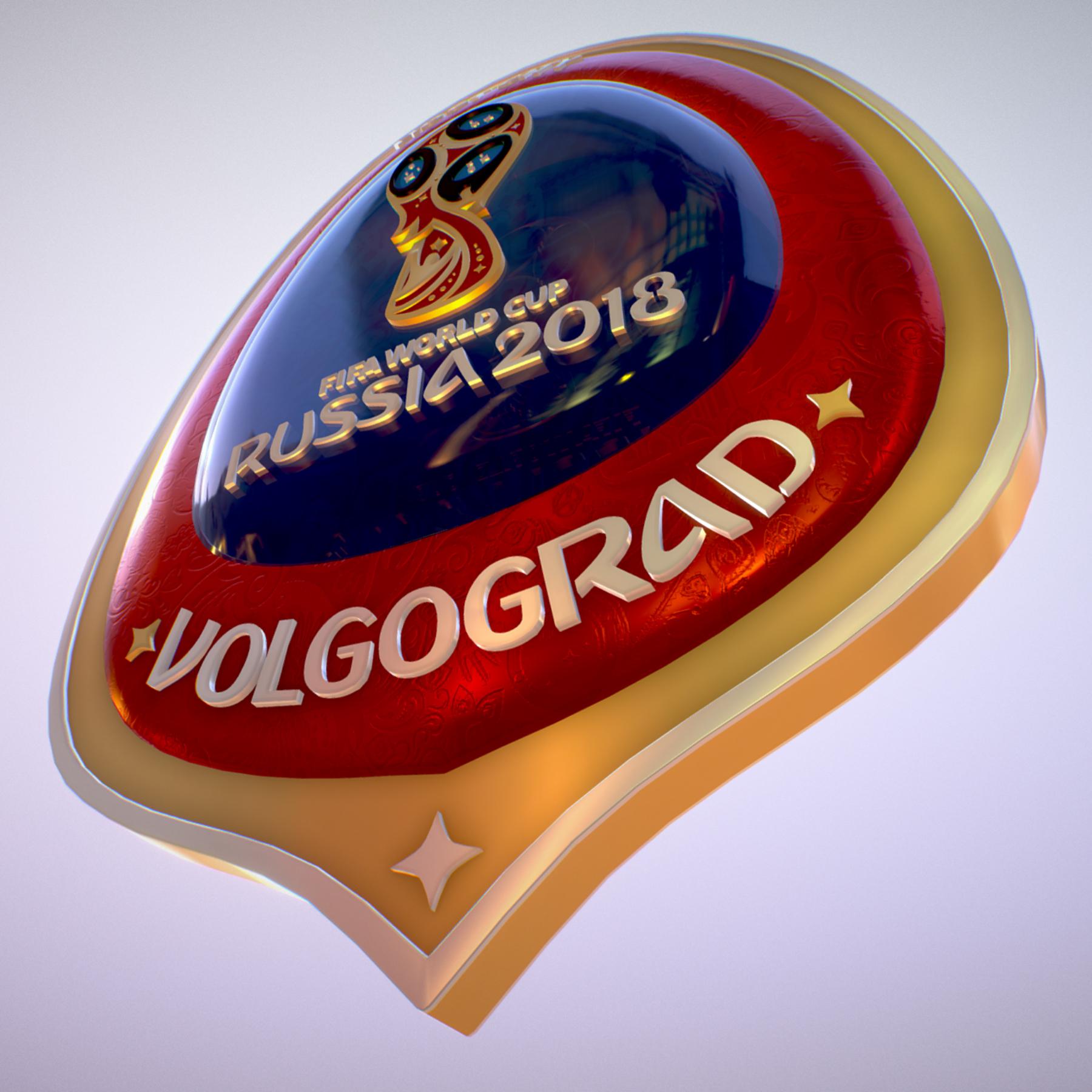volgograd host city world cup russia 2018 symbol 3d model max  fbx jpeg jpg ma mb obj 271862