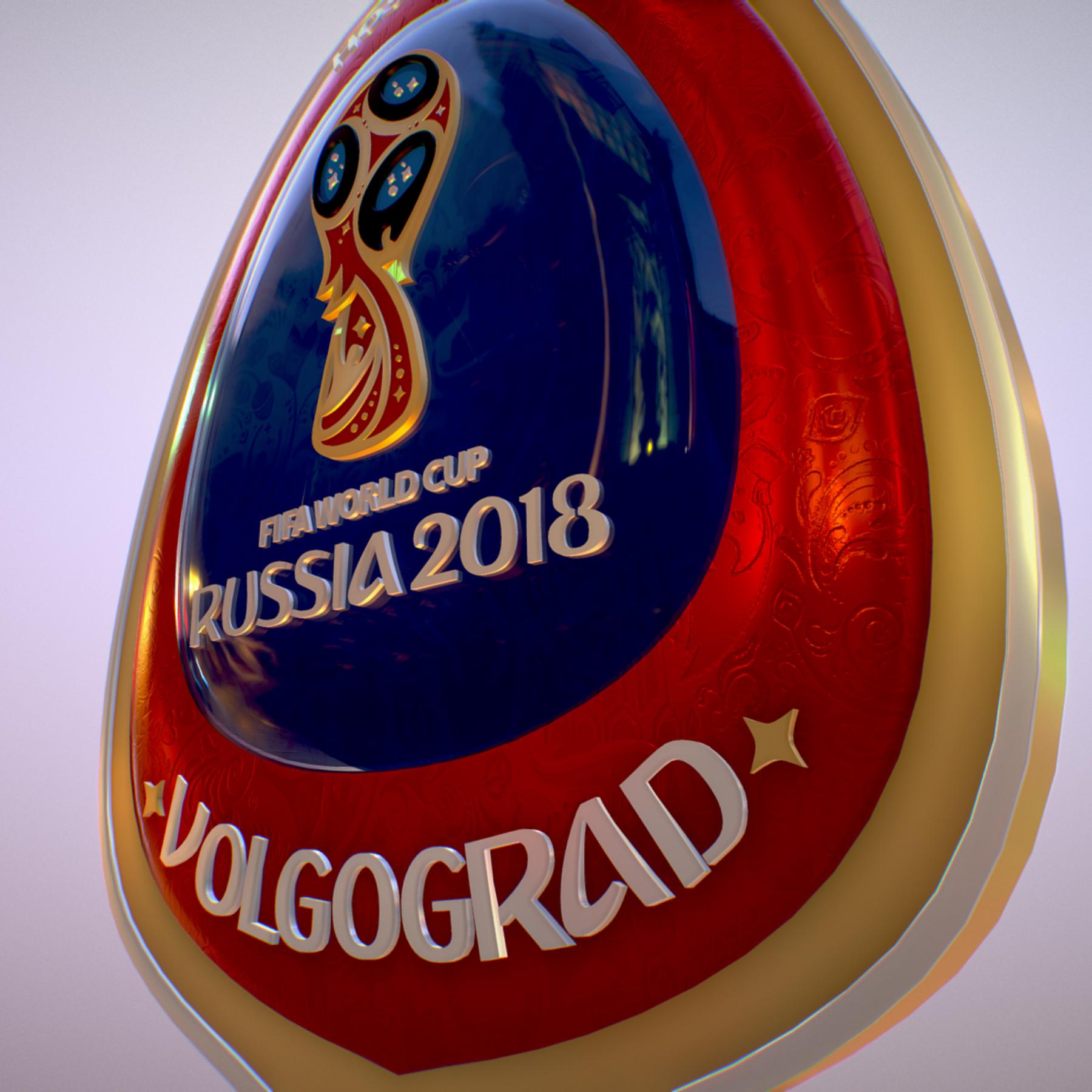 volgograd host city world cup russia 2018 symbol 3d model max  fbx jpeg jpg ma mb obj 271864