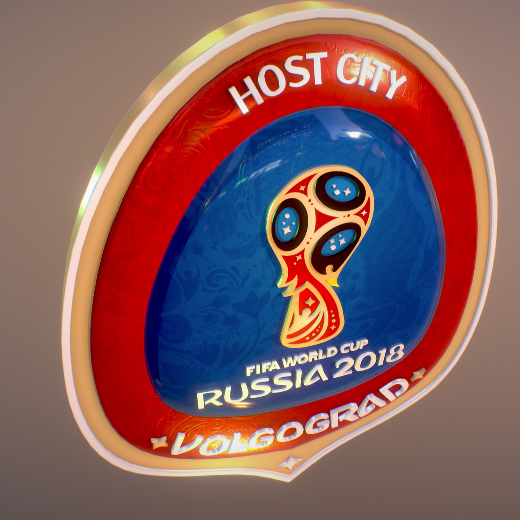 volgograd host city world cup russia 2018 symbol 3d model max  fbx jpeg jpg ma mb obj 271866