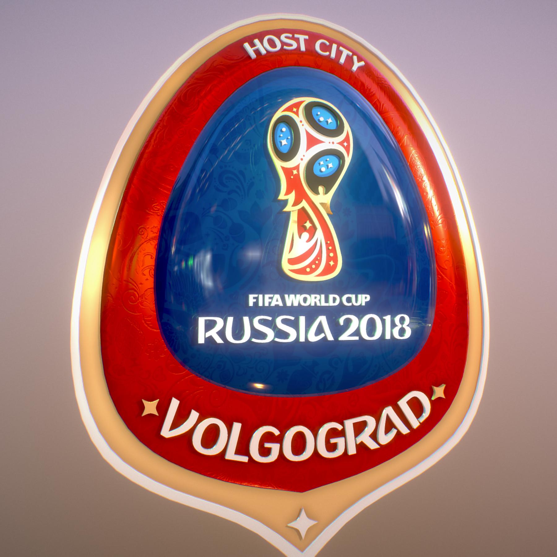 volgograd host city world cup russia 2018 symbol 3d model max  fbx jpeg jpg ma mb obj 271870