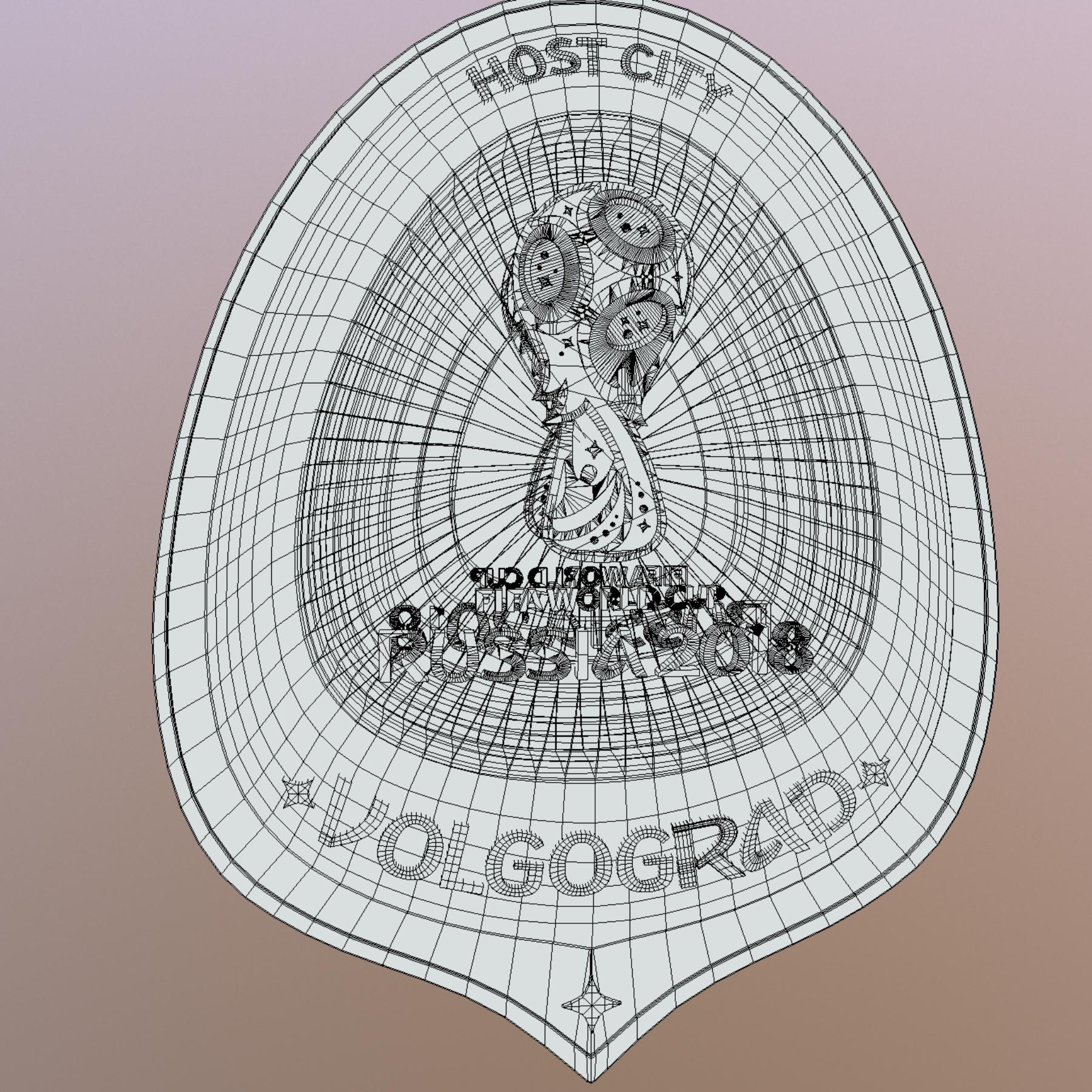 volgograd host city world cup russia 2018 symbol 3d model max  fbx jpeg jpg ma mb obj 271871