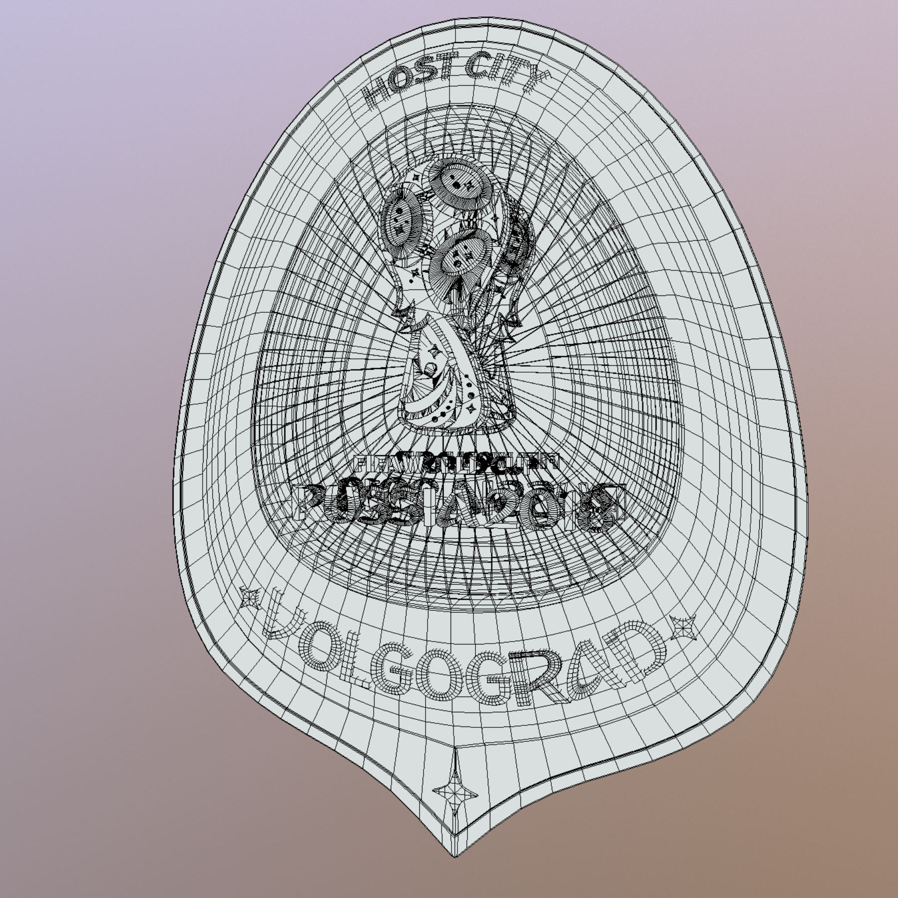 volgograd host city world cup russia 2018 symbol 3d model max  fbx jpeg jpg ma mb obj 271872