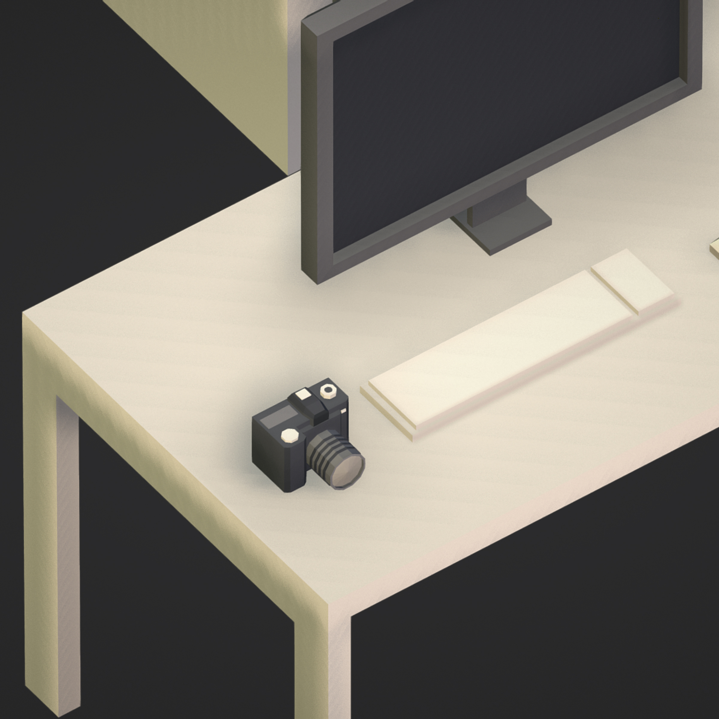 100 object Isometric Home Office Furniture Fitness 3d model max 3ds max plugin fbx ma mb png obj 271924