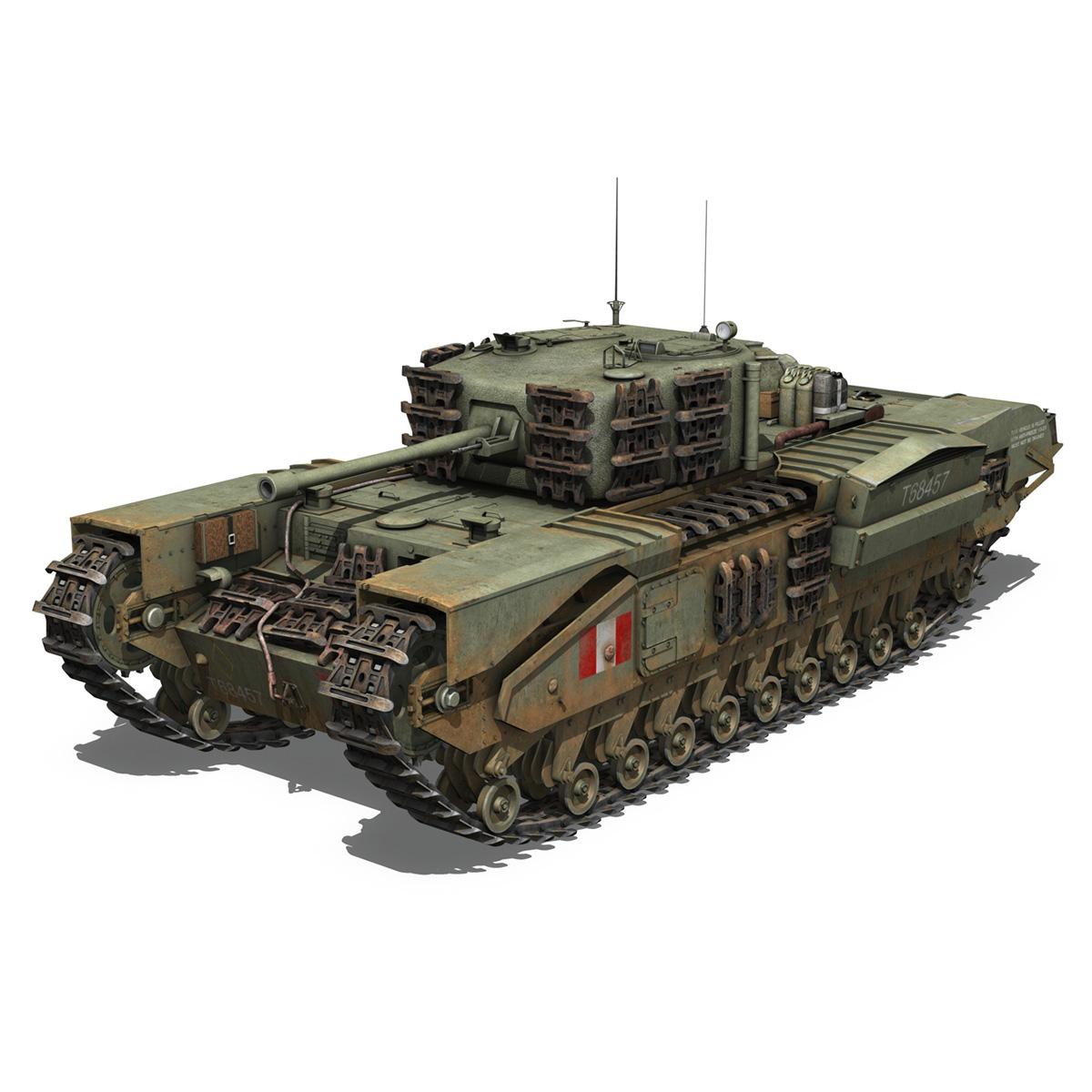 Churchill mk.iv - t68457 3d modelis 3ds fbx c4d lwo obj 271978
