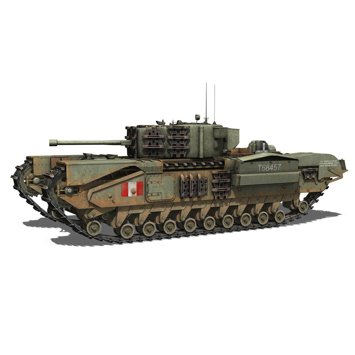 Churchill mk.iv - t68457 3d modelis 3ds fbx c4d lwo obj 271979