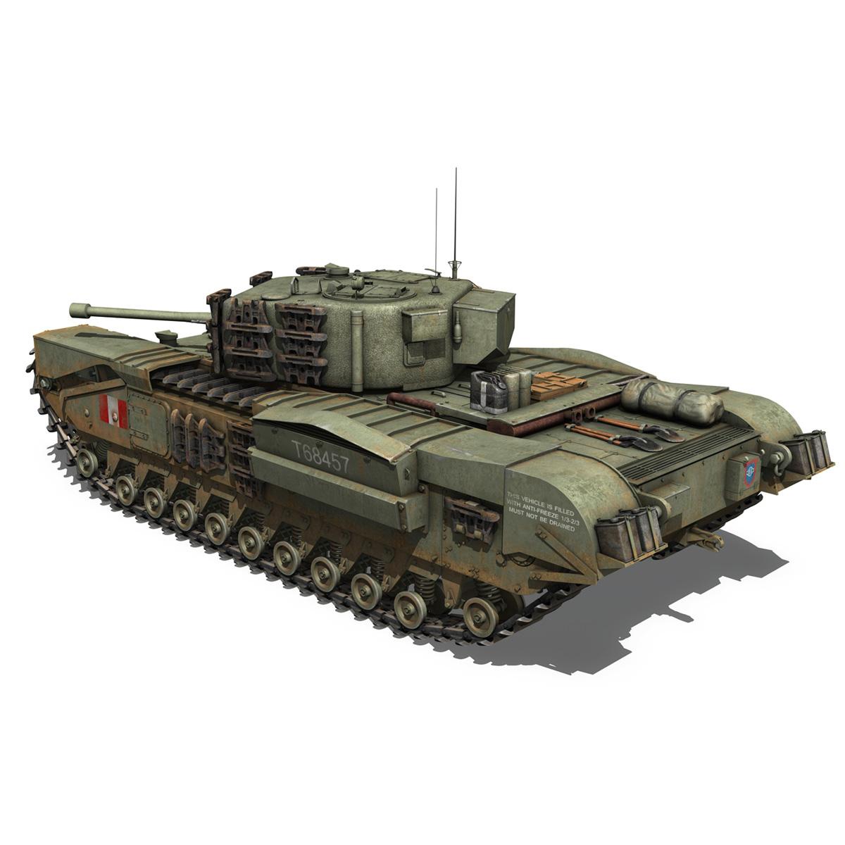Churchill mk.iv - t68457 3d modelis 3ds fbx c4d lwo obj 271980