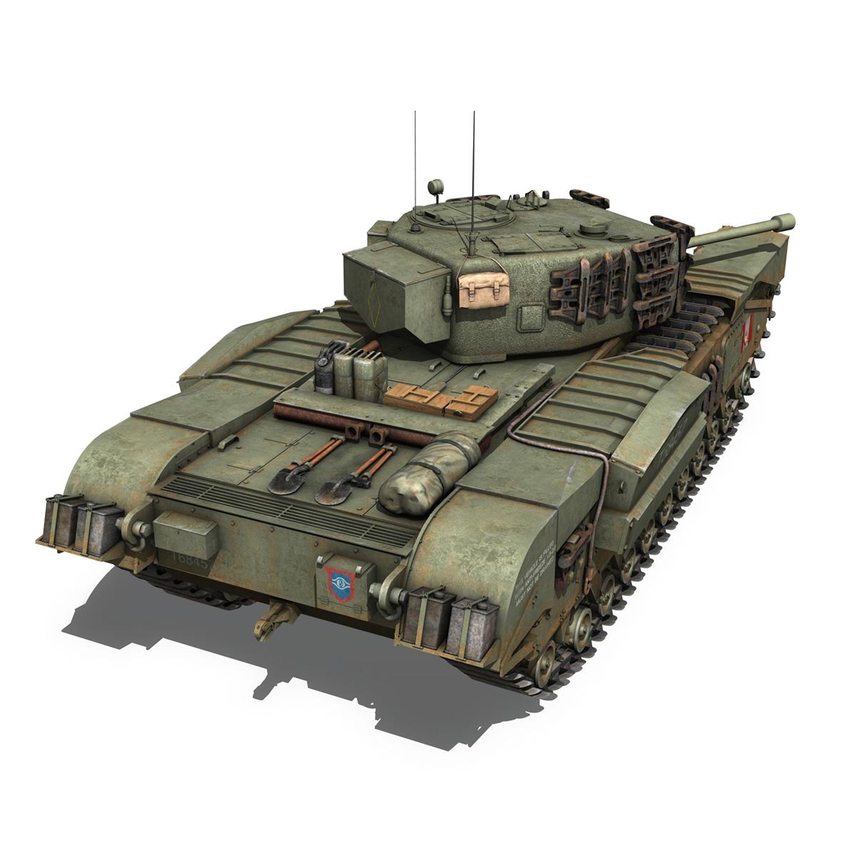 Churchill mk.iv - t68457 3d modelis 3ds fbx c4d lwo obj 271981