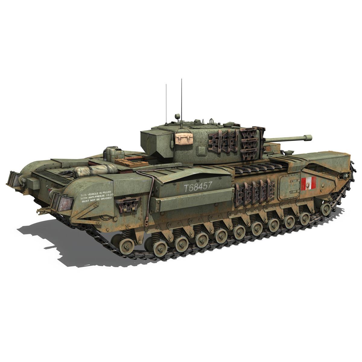 Churchill mk.iv - t68457 3d modelis 3ds fbx c4d lwo obj 271982