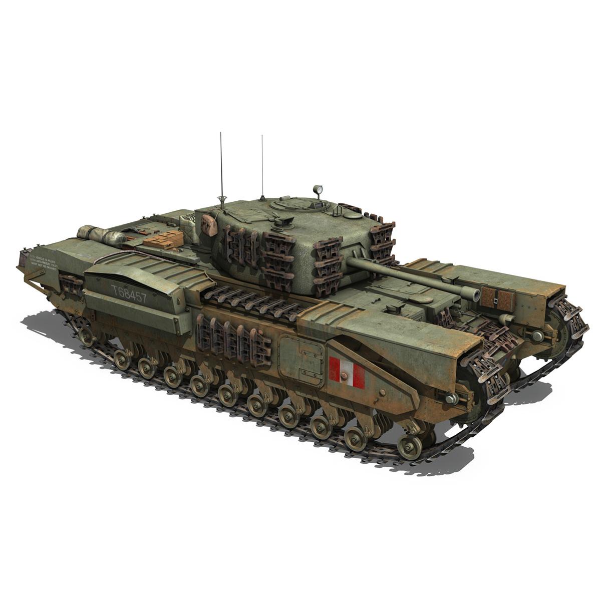 Churchill mk.iv - t68457 3d modelis 3ds fbx c4d lwo obj 271983