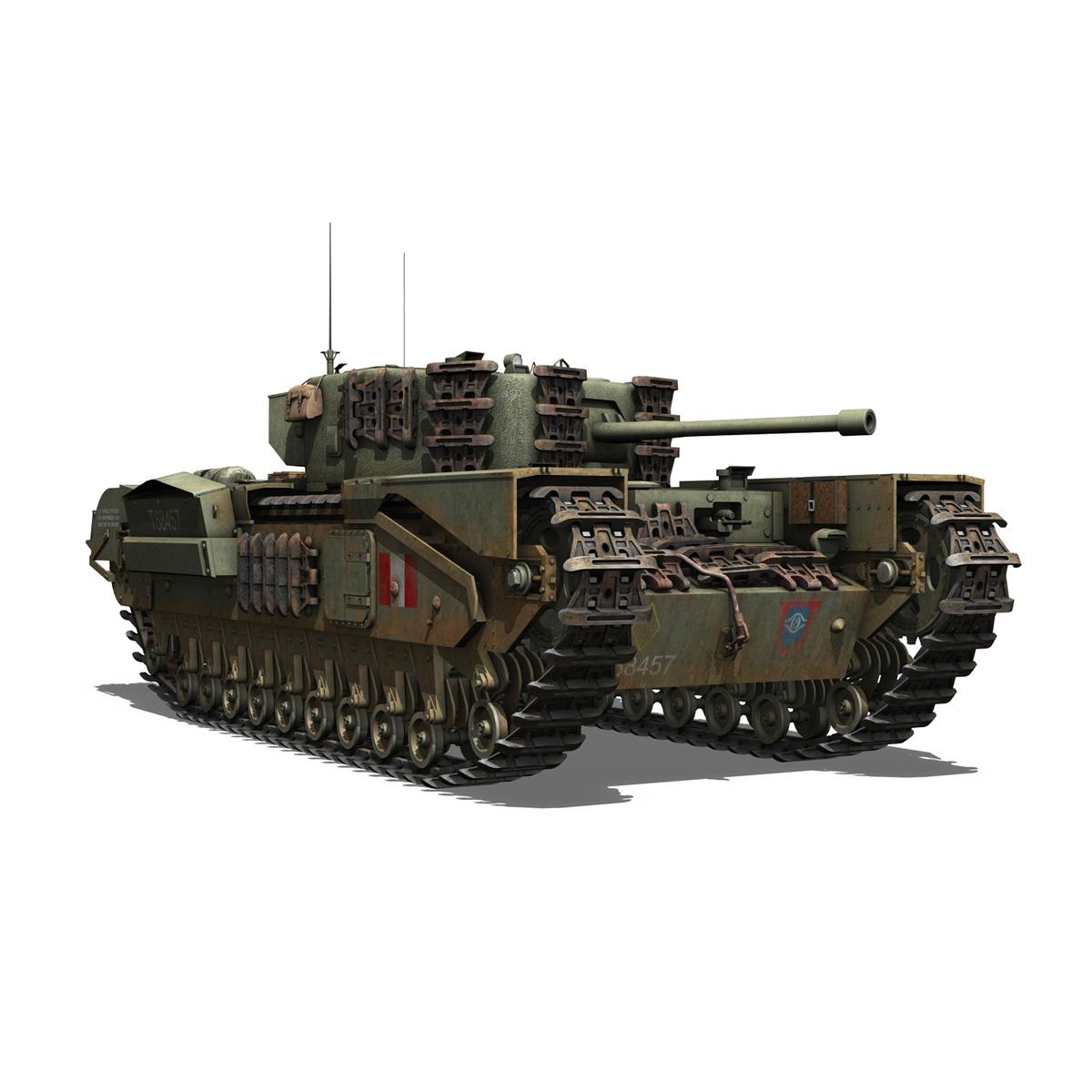 Churchill mk.iv - t68457 3d modelis 3ds fbx c4d lwo obj 271984