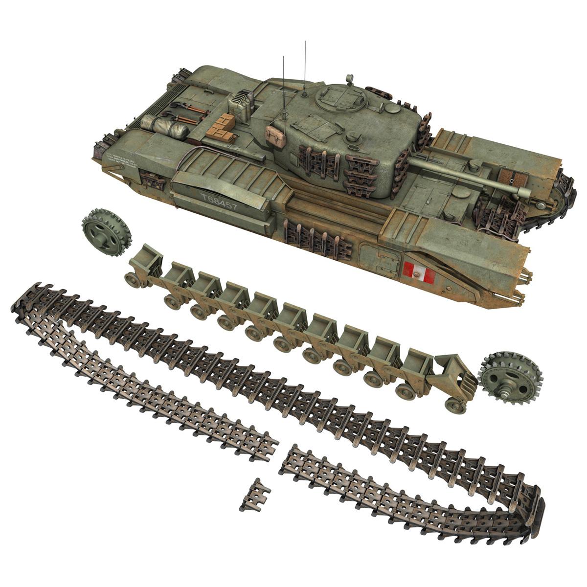 Churchill mk.iv - t68457 3d modelis 3ds fbx c4d lwo obj 271985