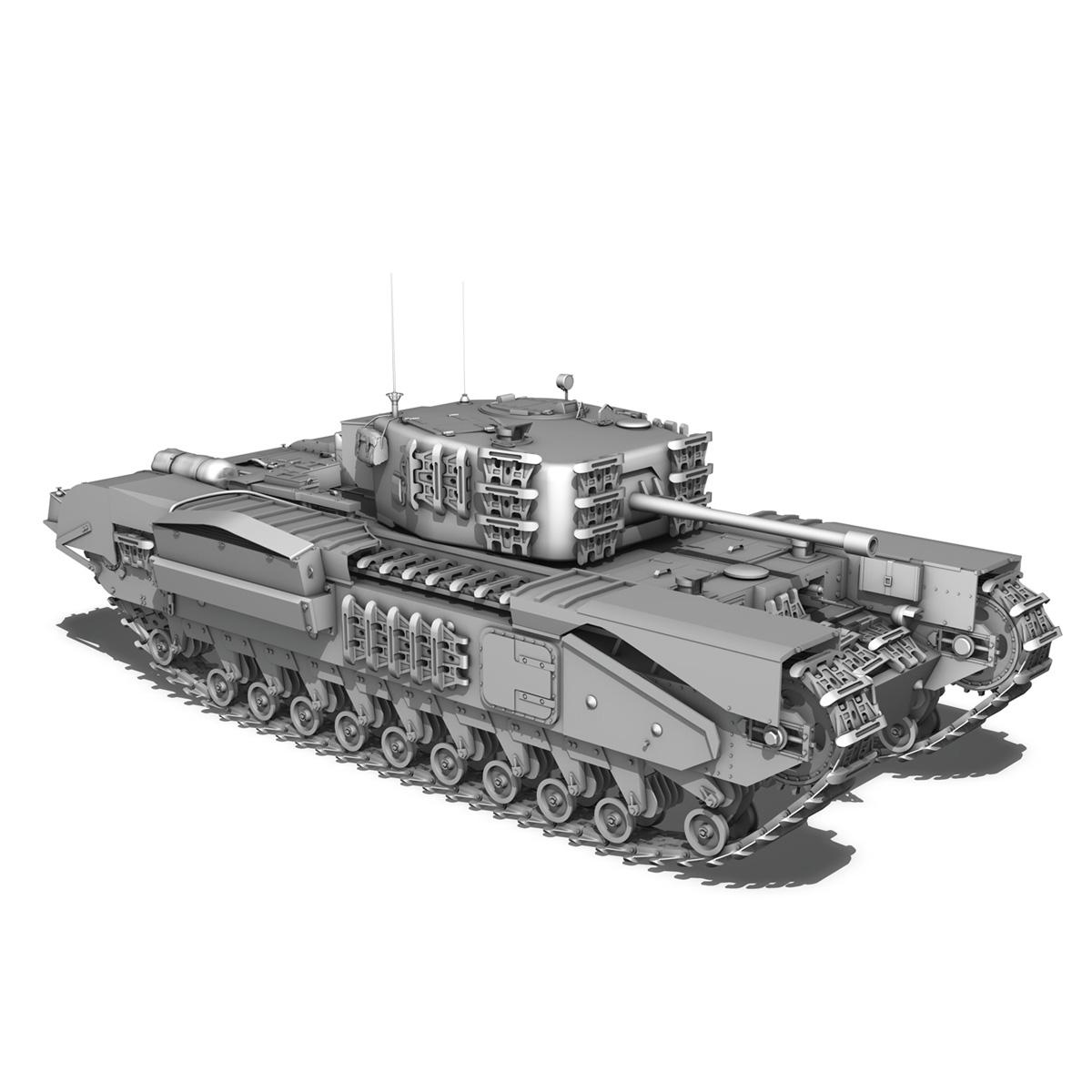 Churchill mk.iv - t68457 3d modelis 3ds fbx c4d lwo obj 271986