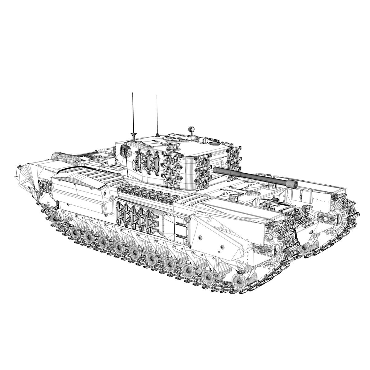 Churchill mk.iv - t68457 3d modelis 3ds fbx c4d lwo obj 271987