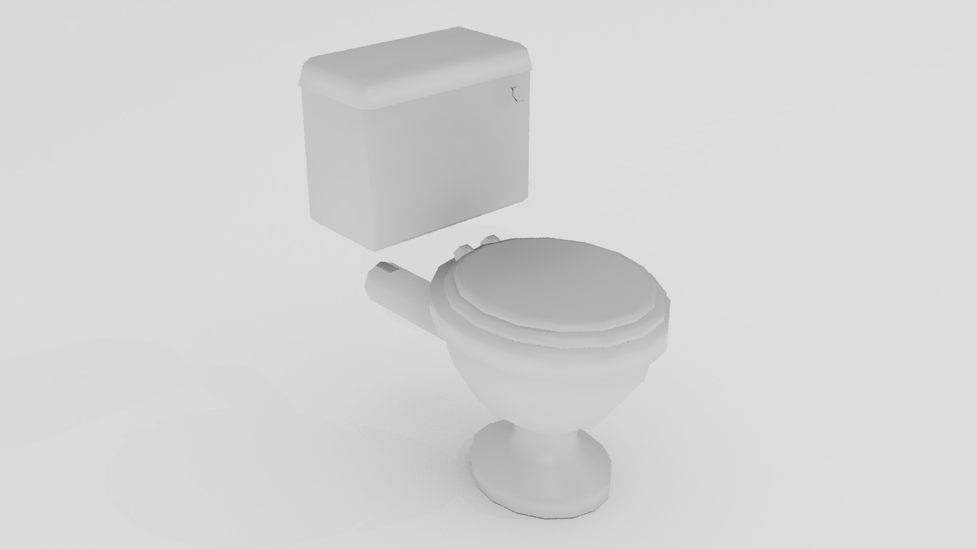 porcelain toilet 3d model 3ds max fbx blend dae obj 272153
