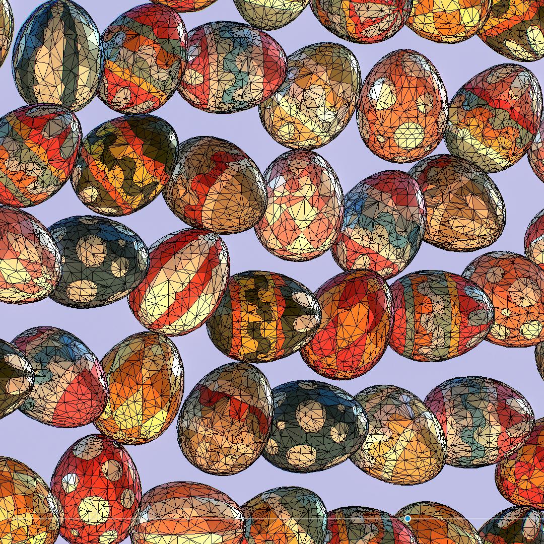 poli rendah seni animasi easter hiasan telur Model 3d max fbx jpeg jpg ma mb obj 272201