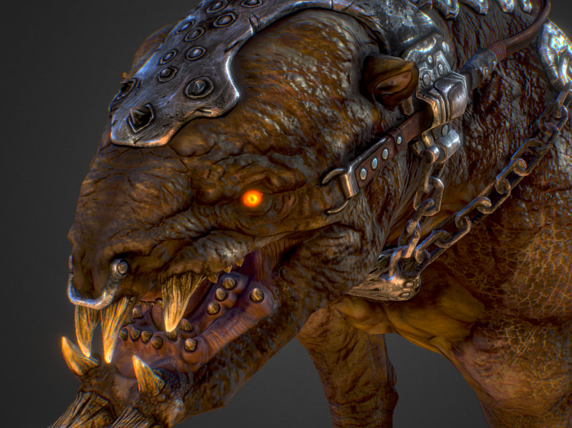 Creature mount Mastodont 3d model augmented reality augmented reality ready game ready games high poly low poly render ready virtual reality vr ecards max 3ds max plugin fbx ma mb obj