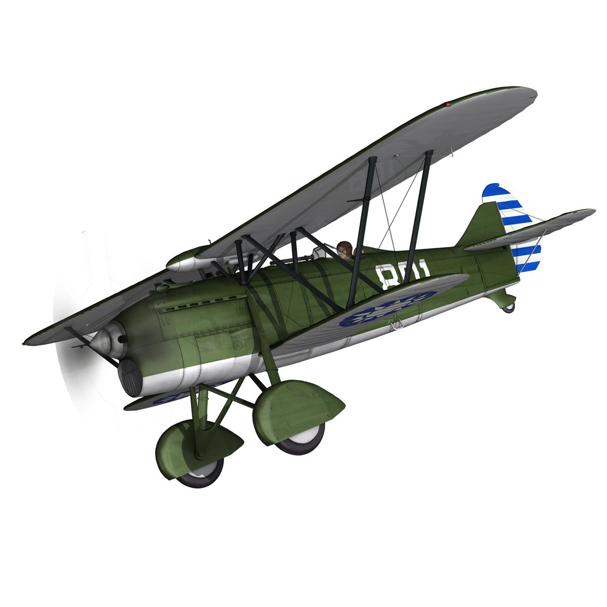 fiat cr.32 – chinese nationalist air force 3d model fbx c4d lwo obj 272633