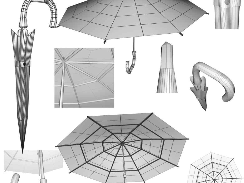 Umbrella 3D object model 3d model 0