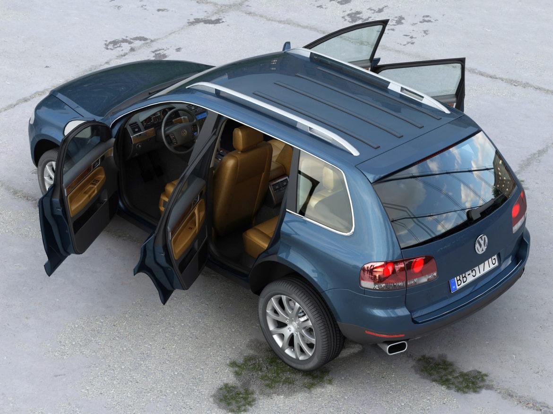 Touareg 2008 3d model 0