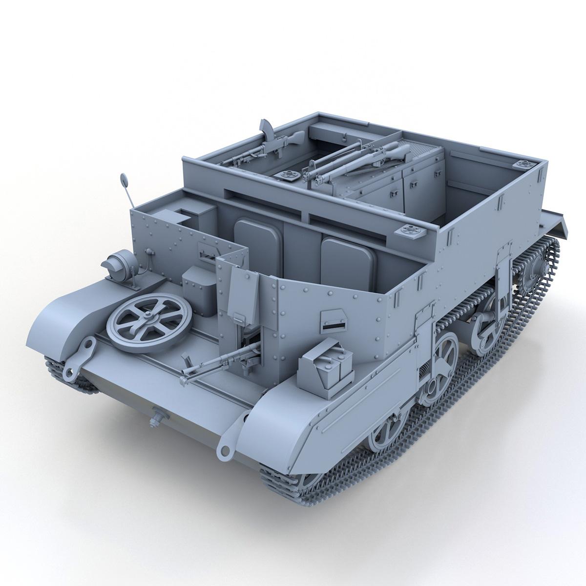Universal Carrier MK II - Bren Gun Carrier 3d model 3ds fbx c4d lwo lws lw obj 272959