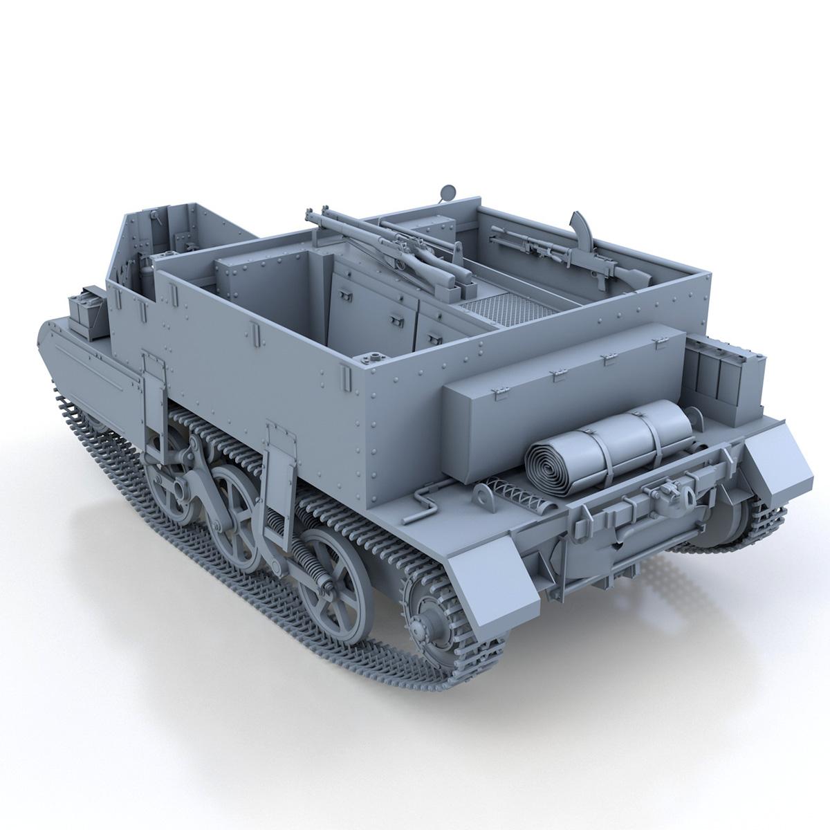 Universal Carrier MK II - Bren Gun Carrier 3d model 3ds fbx c4d lwo lws lw obj 272960