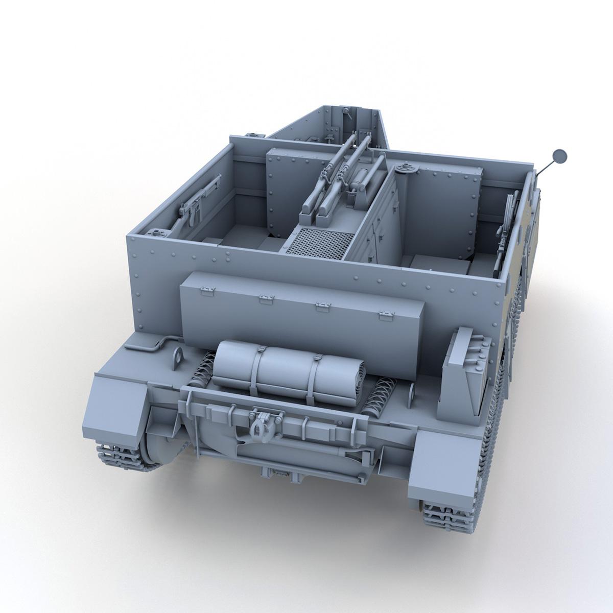 Universal Carrier MK II - Bren Gun Carrier 3d model 3ds fbx c4d lwo lws lw obj 272961