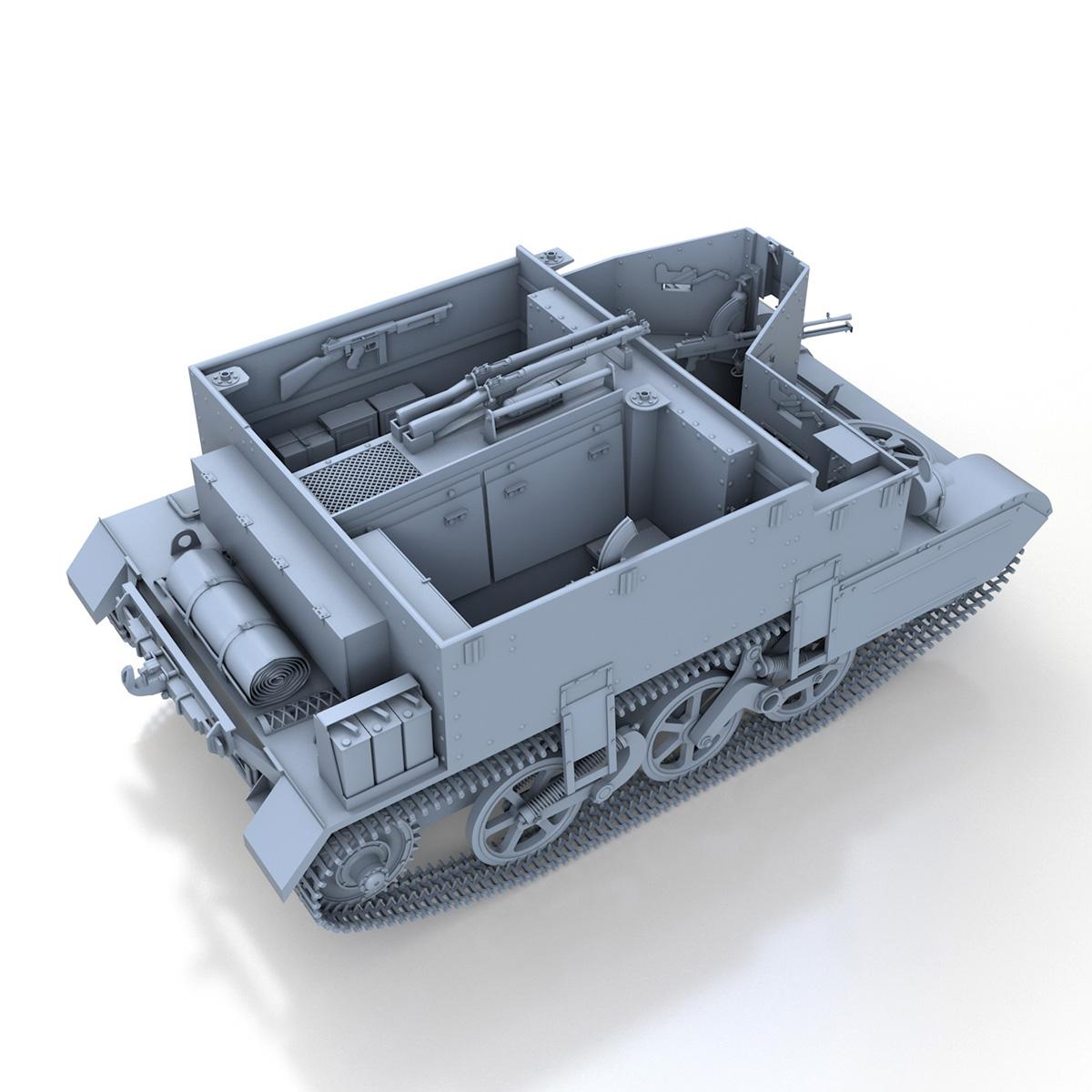 Universal Carrier MK II - Bren Gun Carrier 3d model 3ds fbx c4d lwo lws lw obj 272962