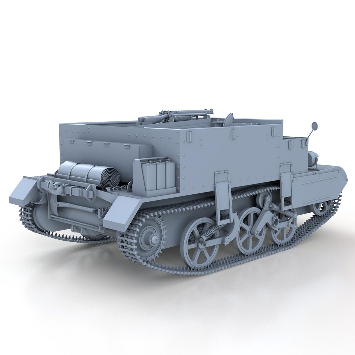 Universal Carrier MK II - Bren Gun Carrier 3d model 3ds fbx c4d lwo lws lw obj 272963
