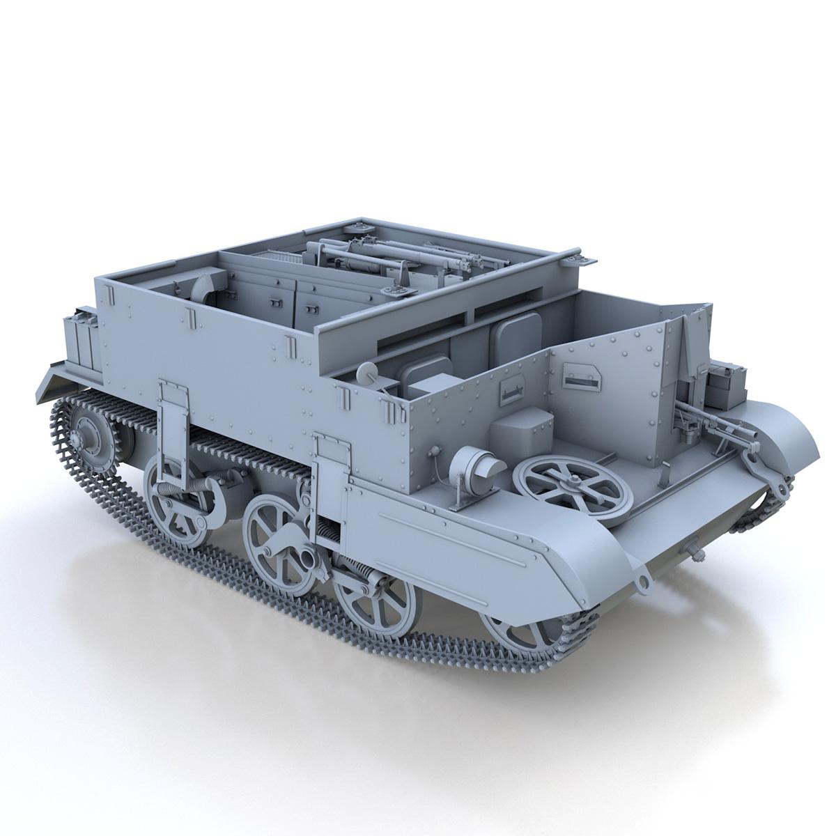 Universal Carrier MK II - Bren Gun Carrier 3d model 3ds fbx c4d lwo lws lw obj 272964