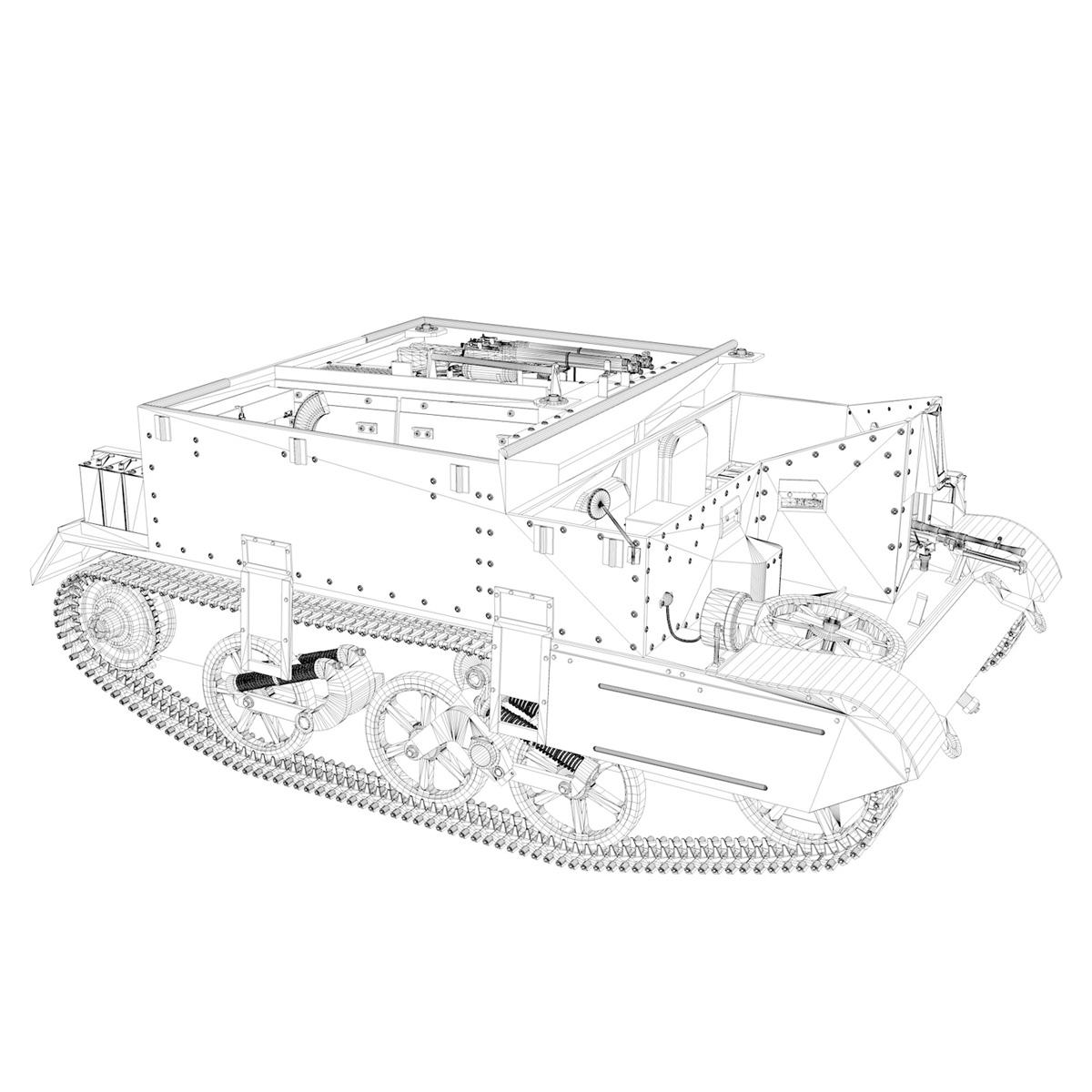 Universal Carrier MK II - Bren Gun Carrier 3d model 3ds fbx c4d lwo lws lw obj 272966