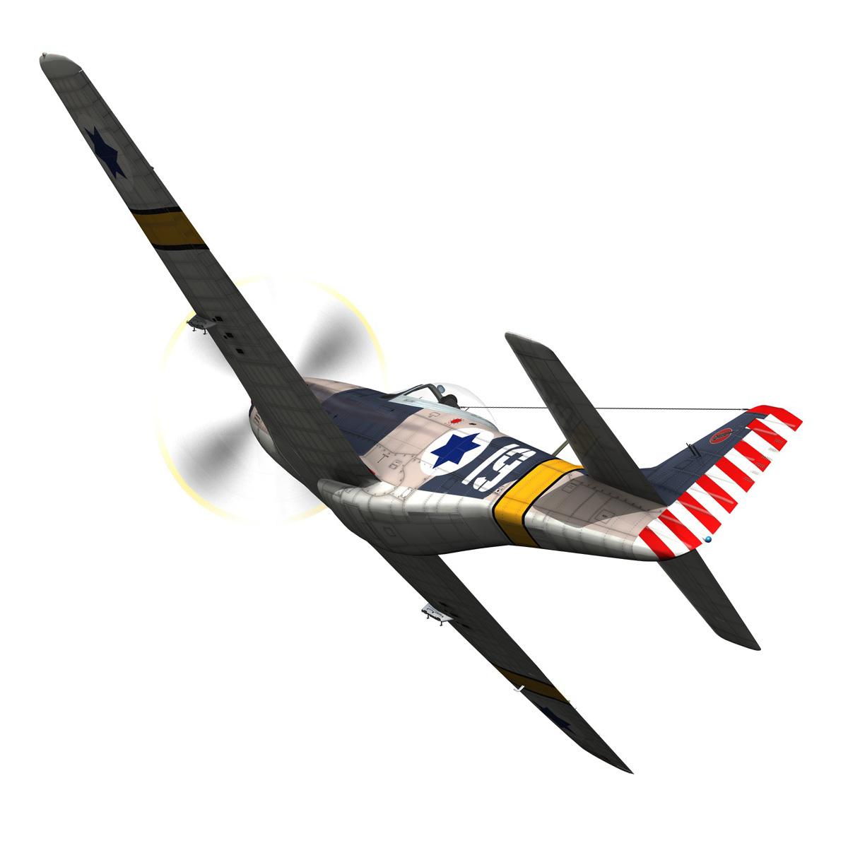 North American P-51D Mustang - IDF 3d model fbx c4d lwo lws lw obj 273309