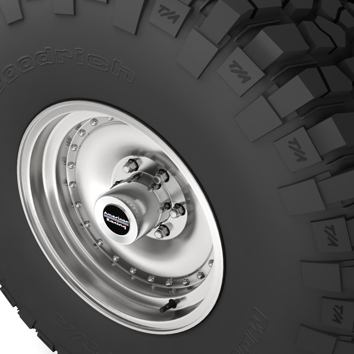 off road wheel and tire 6 3d model 3ds max fbx obj 273550