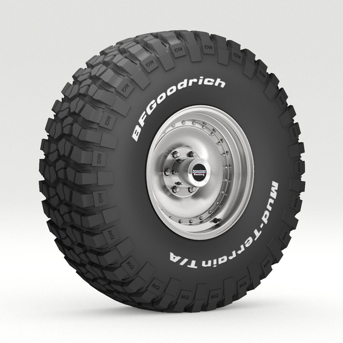 off road wheel and tire 6 3d model 3ds max fbx obj 273551