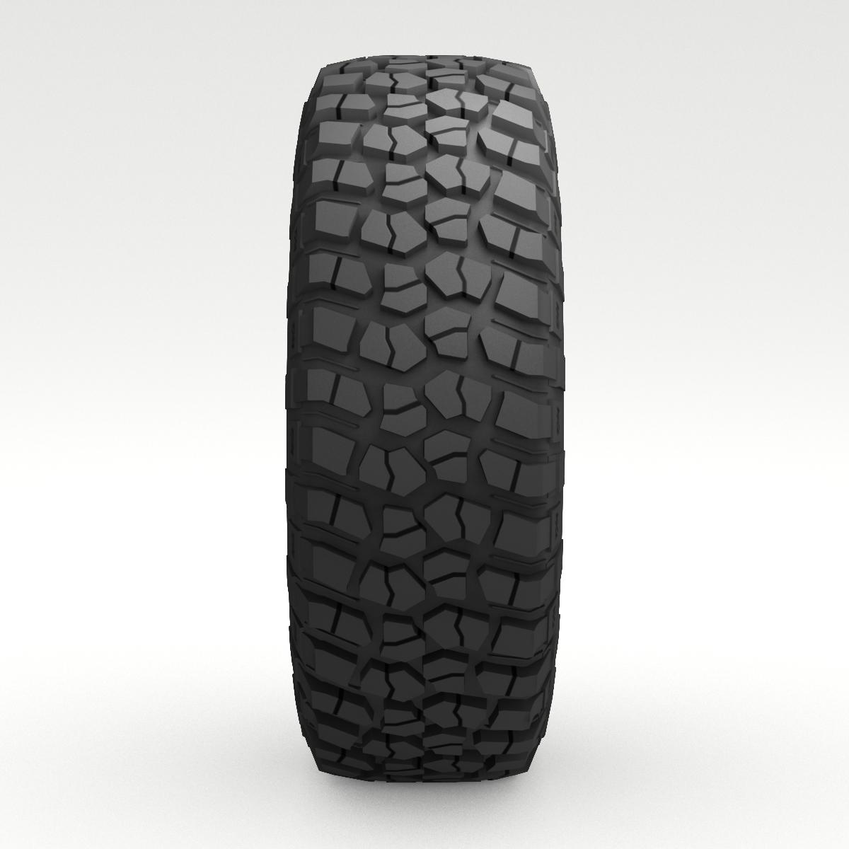 Off Road wheel and tire 6 3d model 3ds max fbx obj 273554