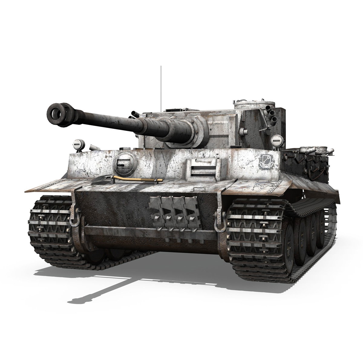 Panzer VI - Tiger - 427 - Early Production 3d model 3ds c4d lwo lws lw obj 273736