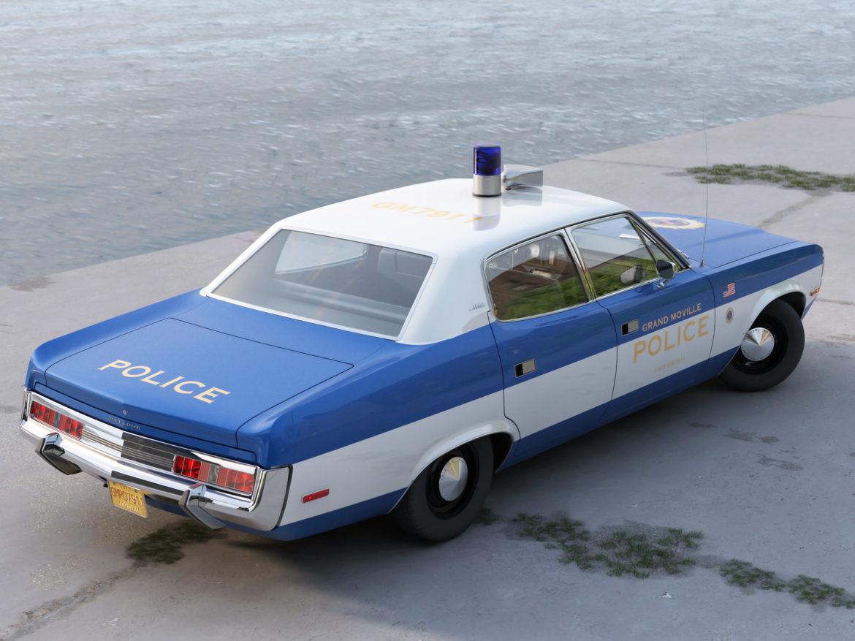 amc matador rendőrség 1972 3d modell 3ds max fbx c4d obj 273769